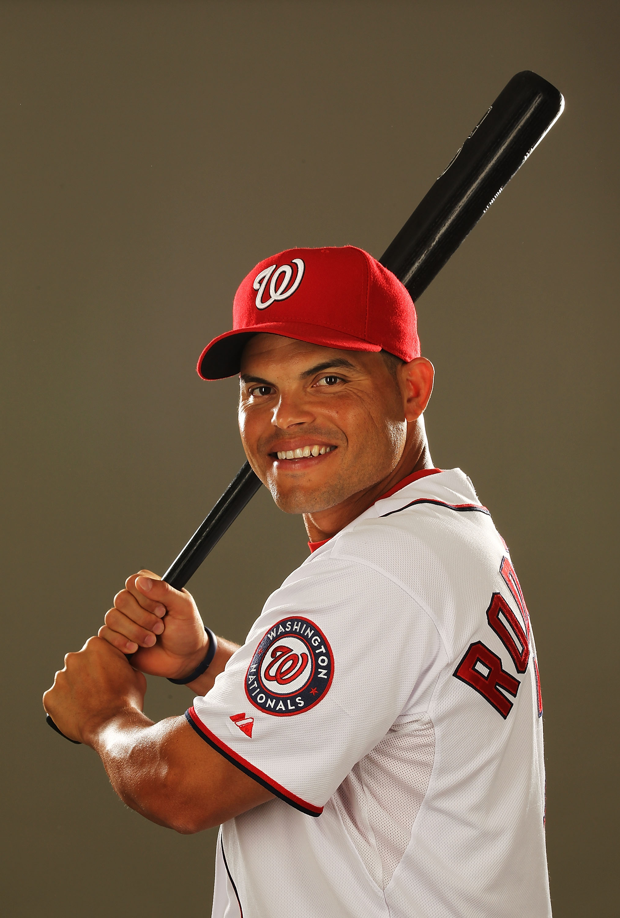 VIERA, FL - FEBRUARY 25:  Ivan Rodriguez #7 of the Washington Nationals poses for a portrait during Spring Training Photo Day at Space Coast Stadium on February 25, 2011 in Viera, Florida.  (Photo by Al Bello/Getty Images)