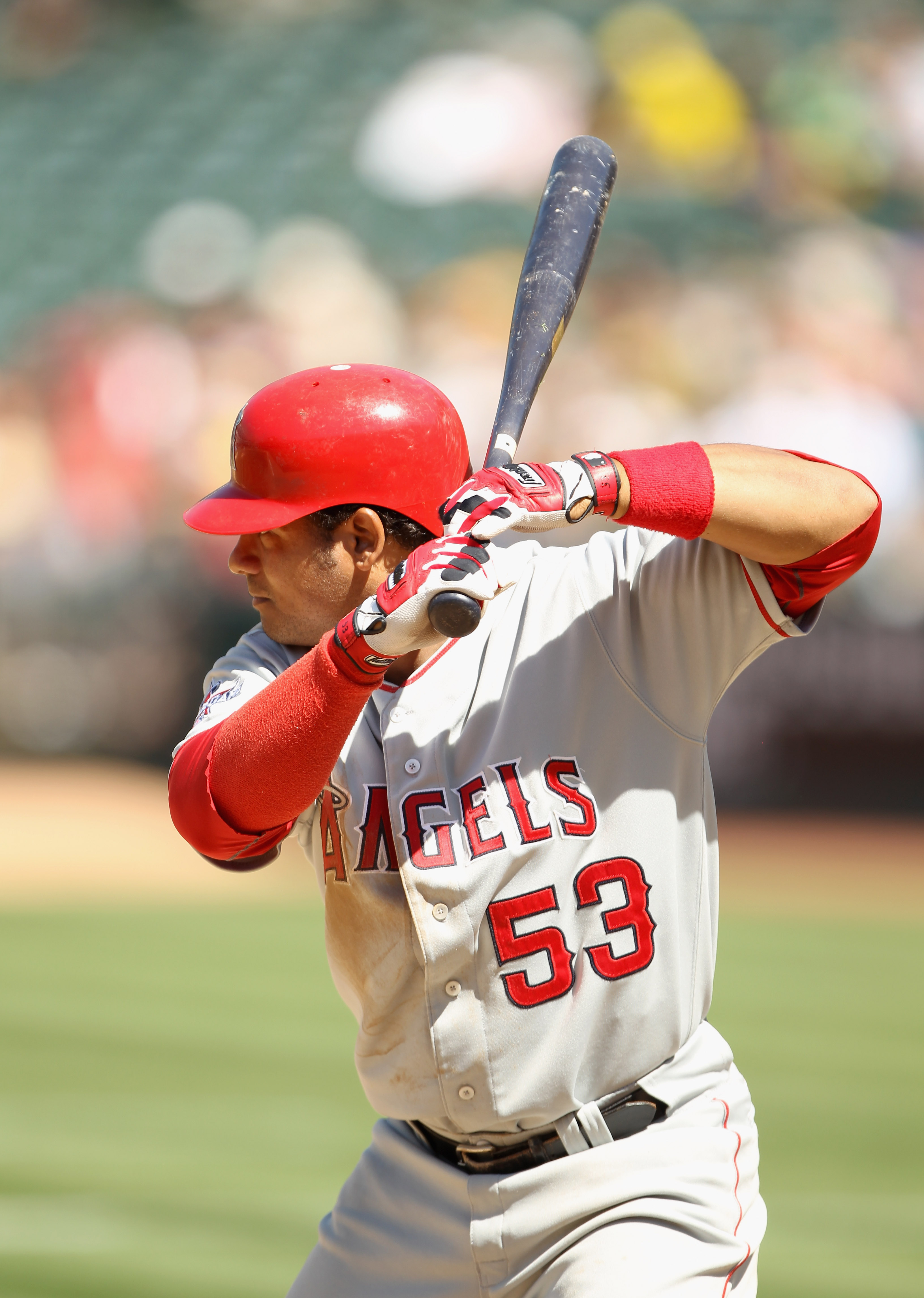 The Angels could be looking to put Bobby Abreu back into the field.