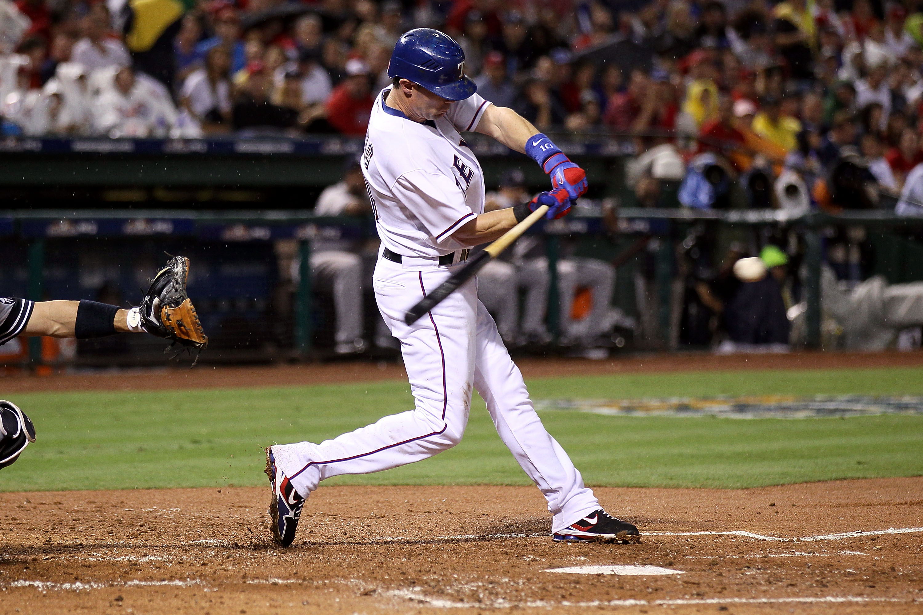 If the Rangers move Michael Young as per his request, then Travis Hafner could fill his spot easily.