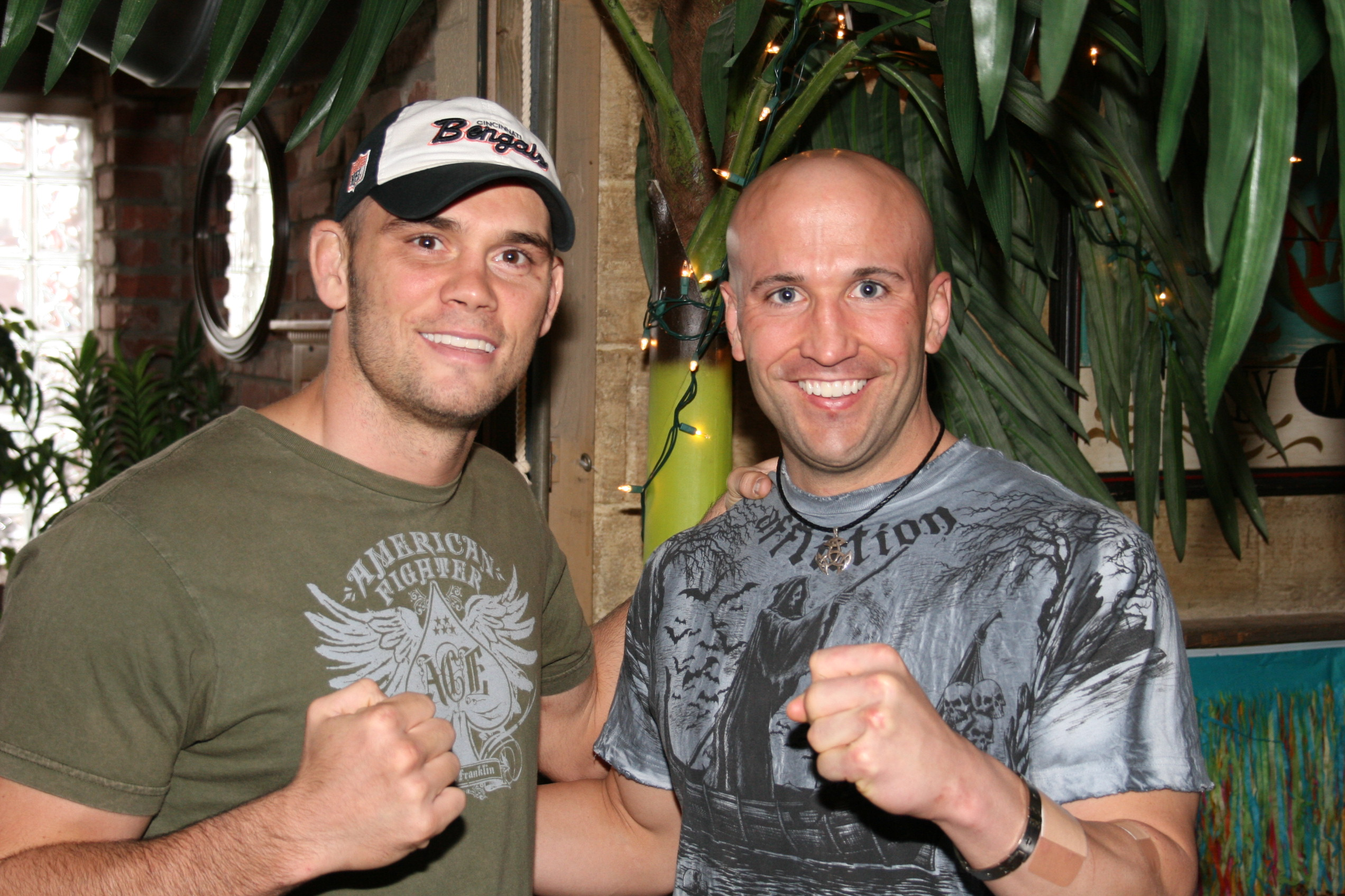 Rich Franklin and Myself