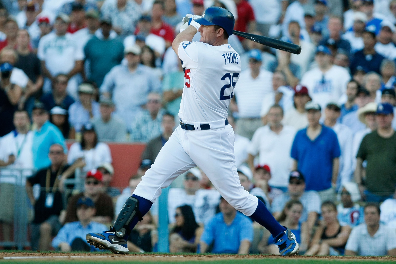 The Dodgers did something similar to picking up Travis Hafner in 2009: picking up Jim Thome.