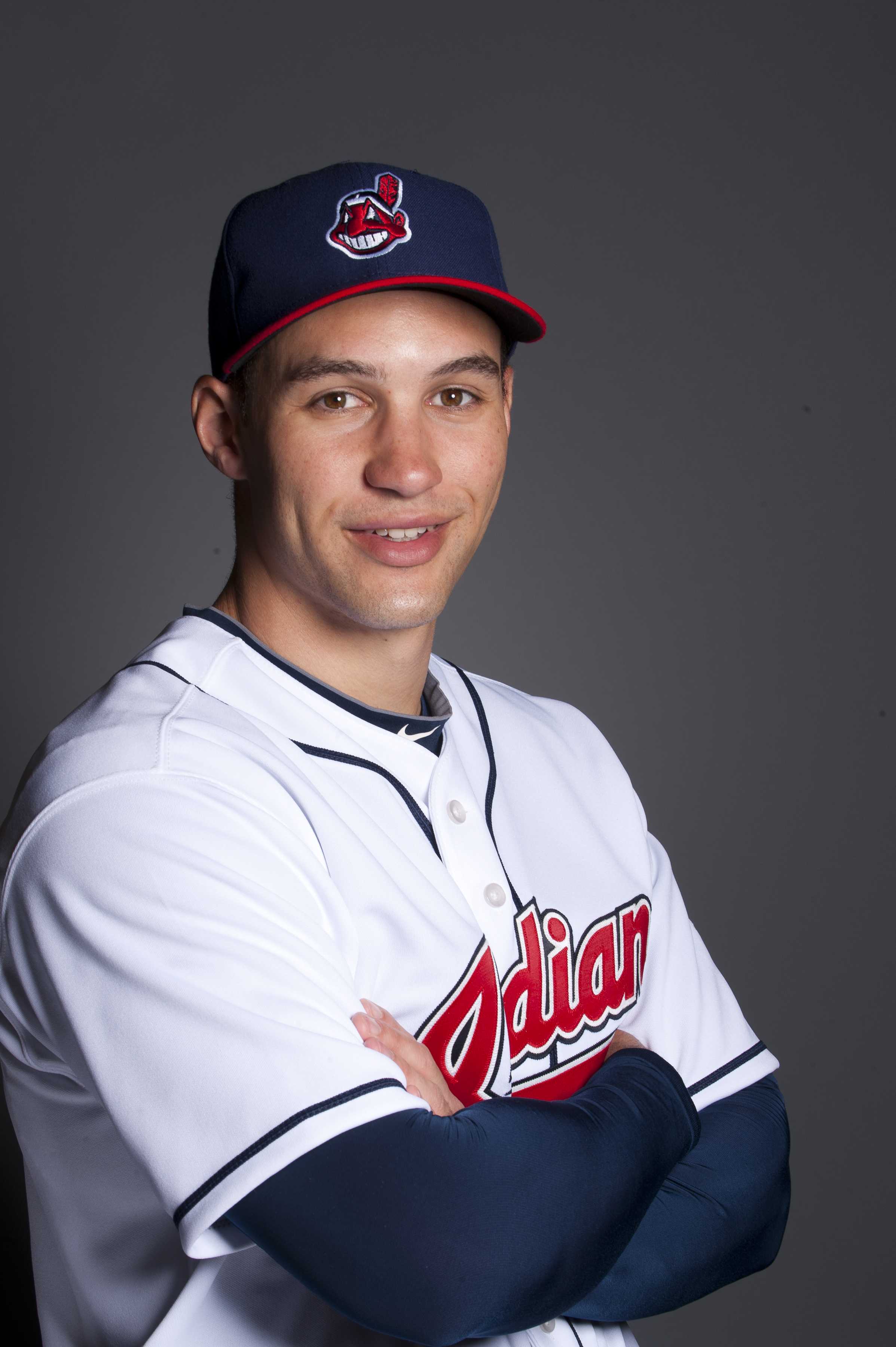 GOODYEAR, AZ - FEBRUARY 22: Grady Sizemore #24 of the Cleveland Indians poses during their photo day at the Cleveland Indians Spring Training Complex on February 22, 2011 in Goodyear ,Arizona. (Photo by Rob Tringali/Getty Images)