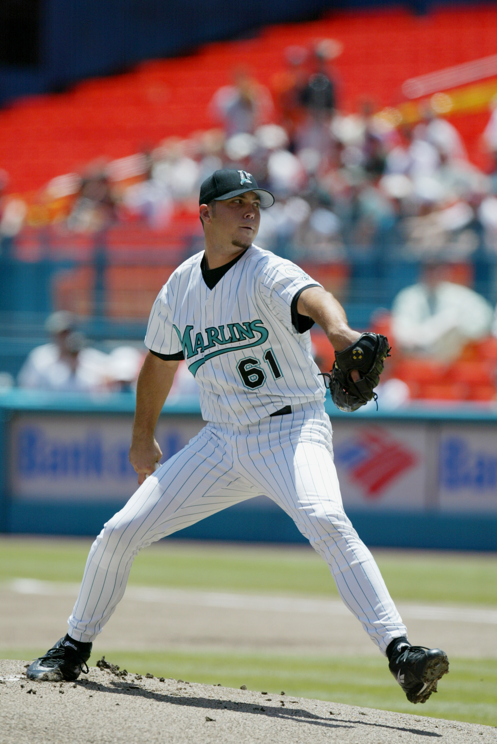 Josh Beckett was the second overall pick by the Florida Marlins in the 1999 draft.