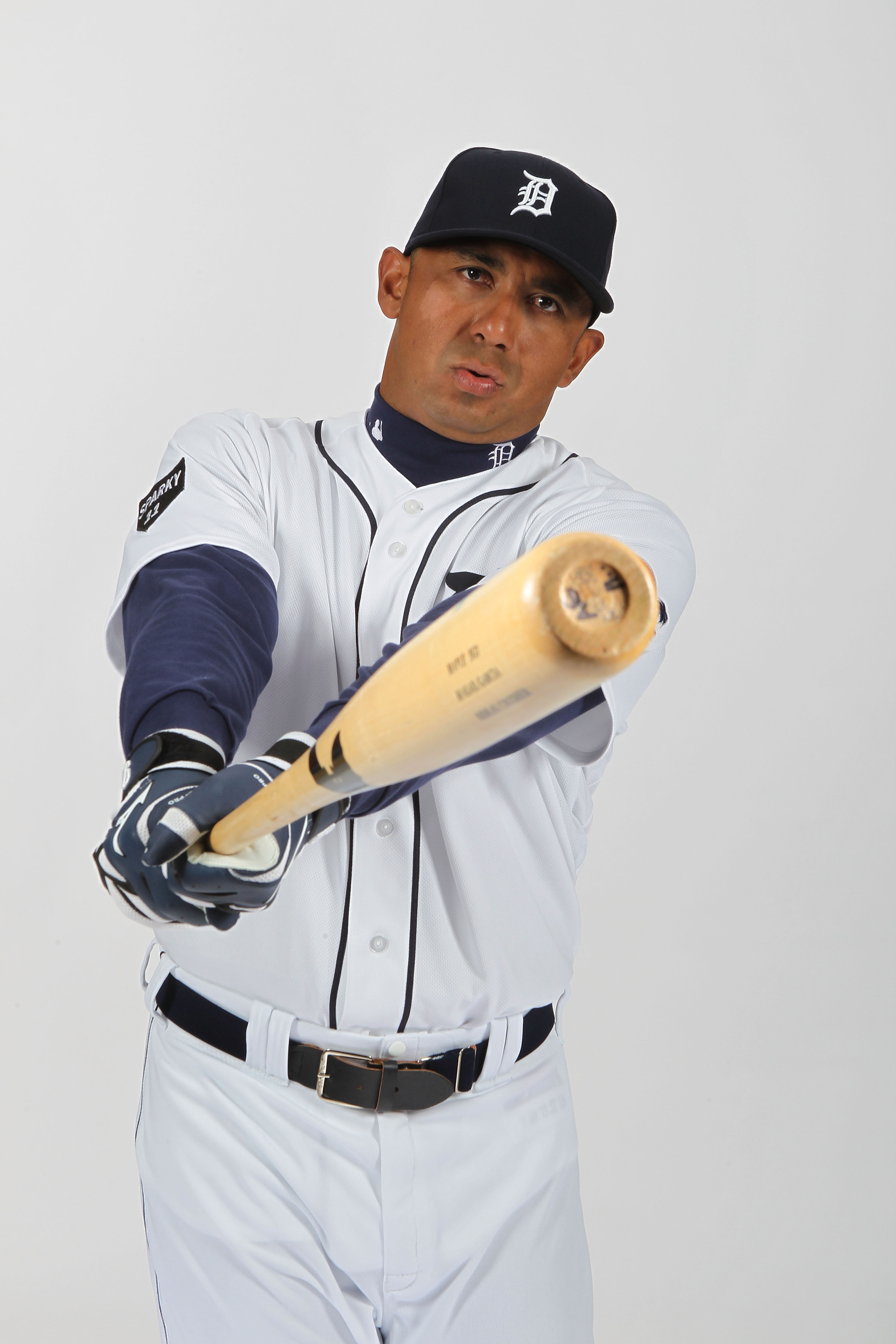 LAKELAND, FL - FEBRUARY 21:  Carlos Guillen #9 of the Detroit Tigers poses for a portrait during Photo Day on February 21, 2011 at Joker Marchant Stadium in Lakeland, Florida.  (Photo by Nick Laham/Getty Images)
