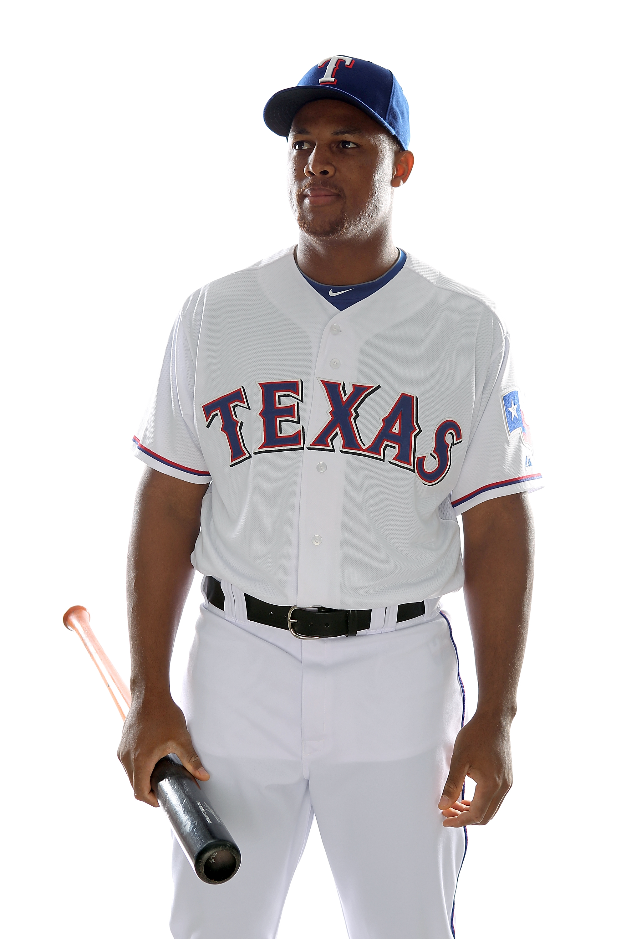 SURPRISE, AZ - FEBRUARY 25:  Adrian Beltre #29 of the Texas Rangers poses for a portrait during Spring Training Media Day on February 25, 2011 at Surprise Stadium in Surprise, Arizona.  (Photo by Jonathan Ferrey/Getty Images)