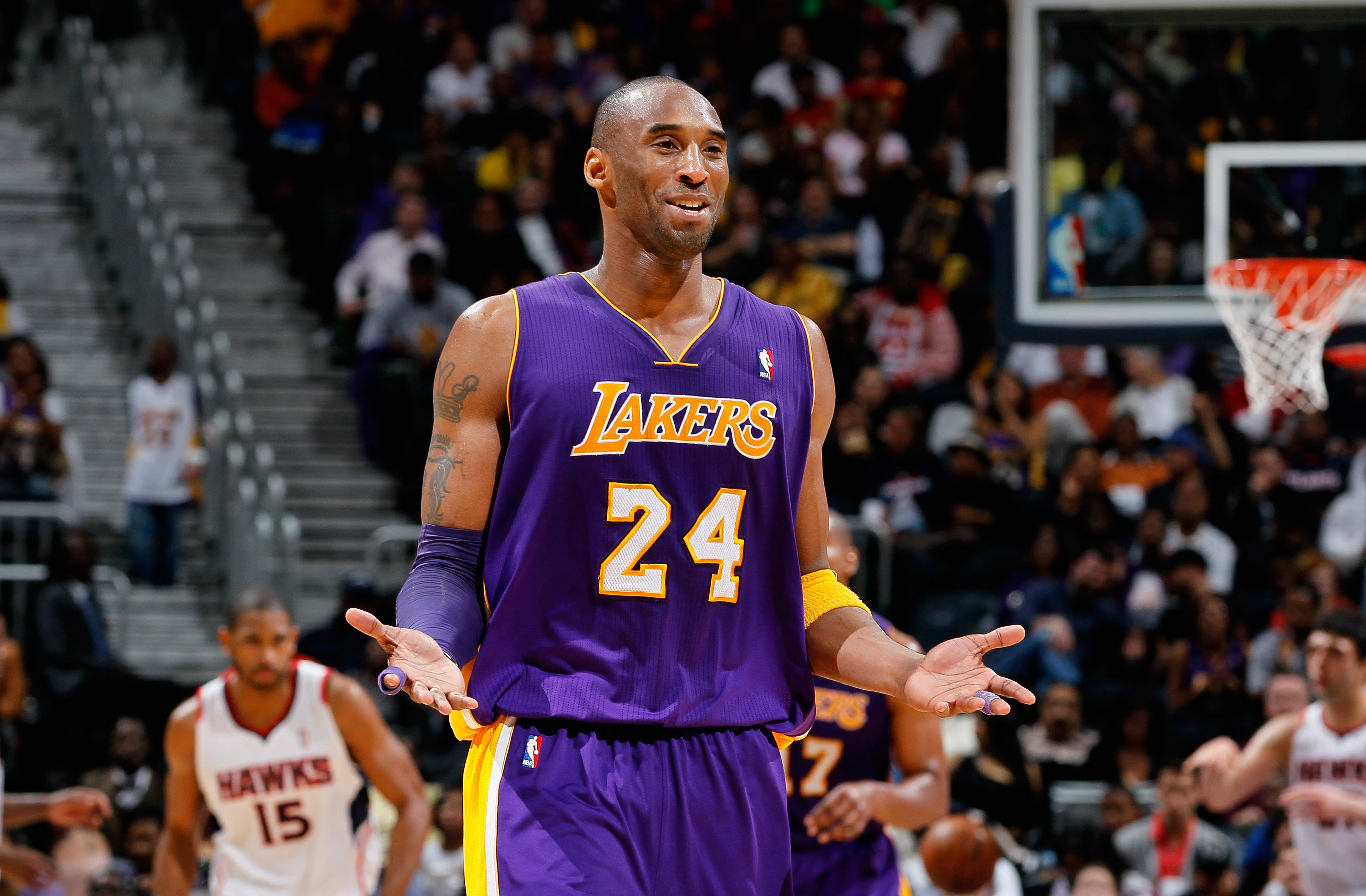 Kobe Bryant - The man the Lakers build around.