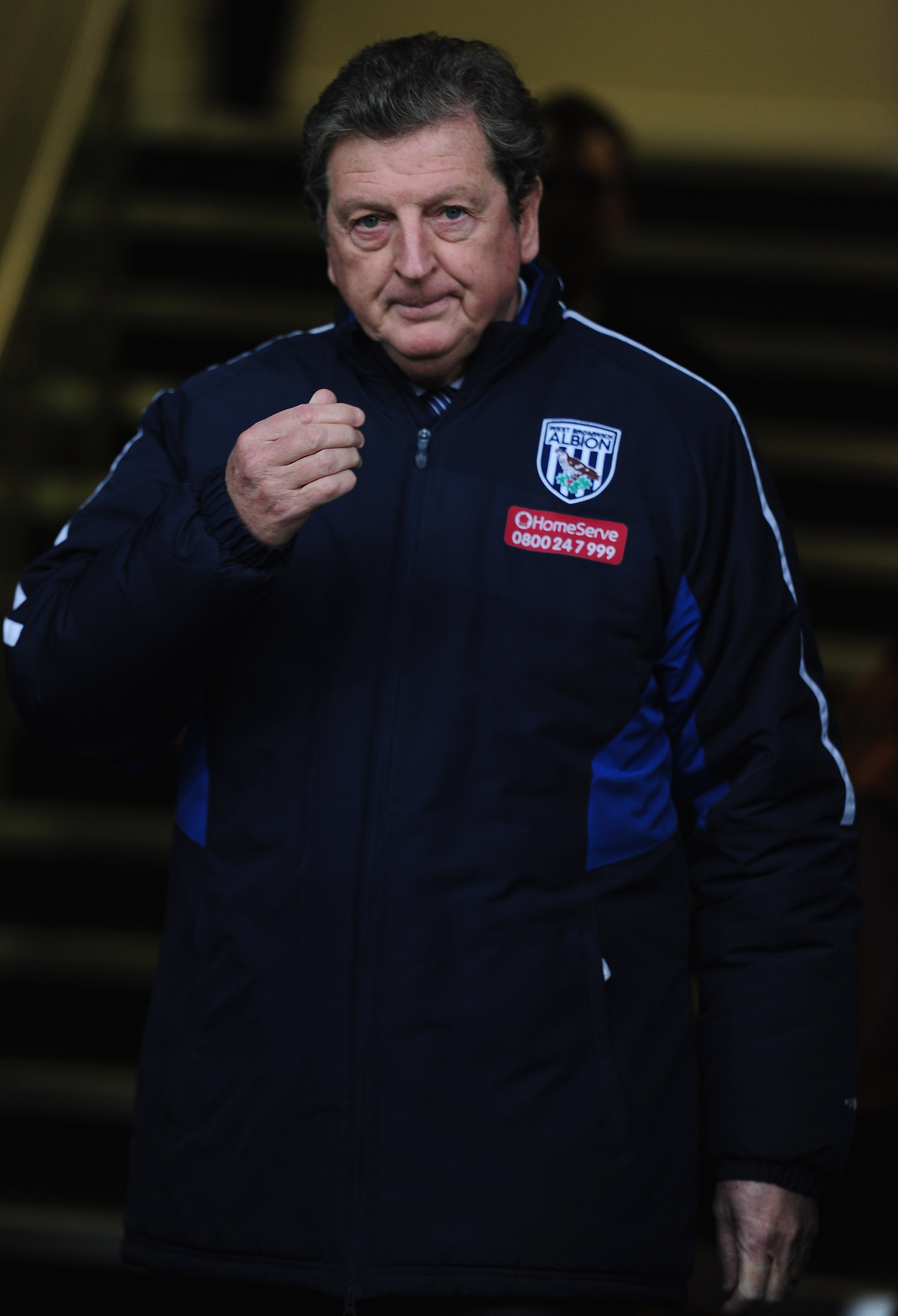 WEST BROMWICH, ENGLAND - FEBRUARY 20:  Roy Hodgson, manager of West Bromwich Albion looks on during the Barclays Premier League match between West Bromwich Albion and Wolverhampton Wanderers at The Hawthorns on February 20, 2011 in West Bromwich, England.