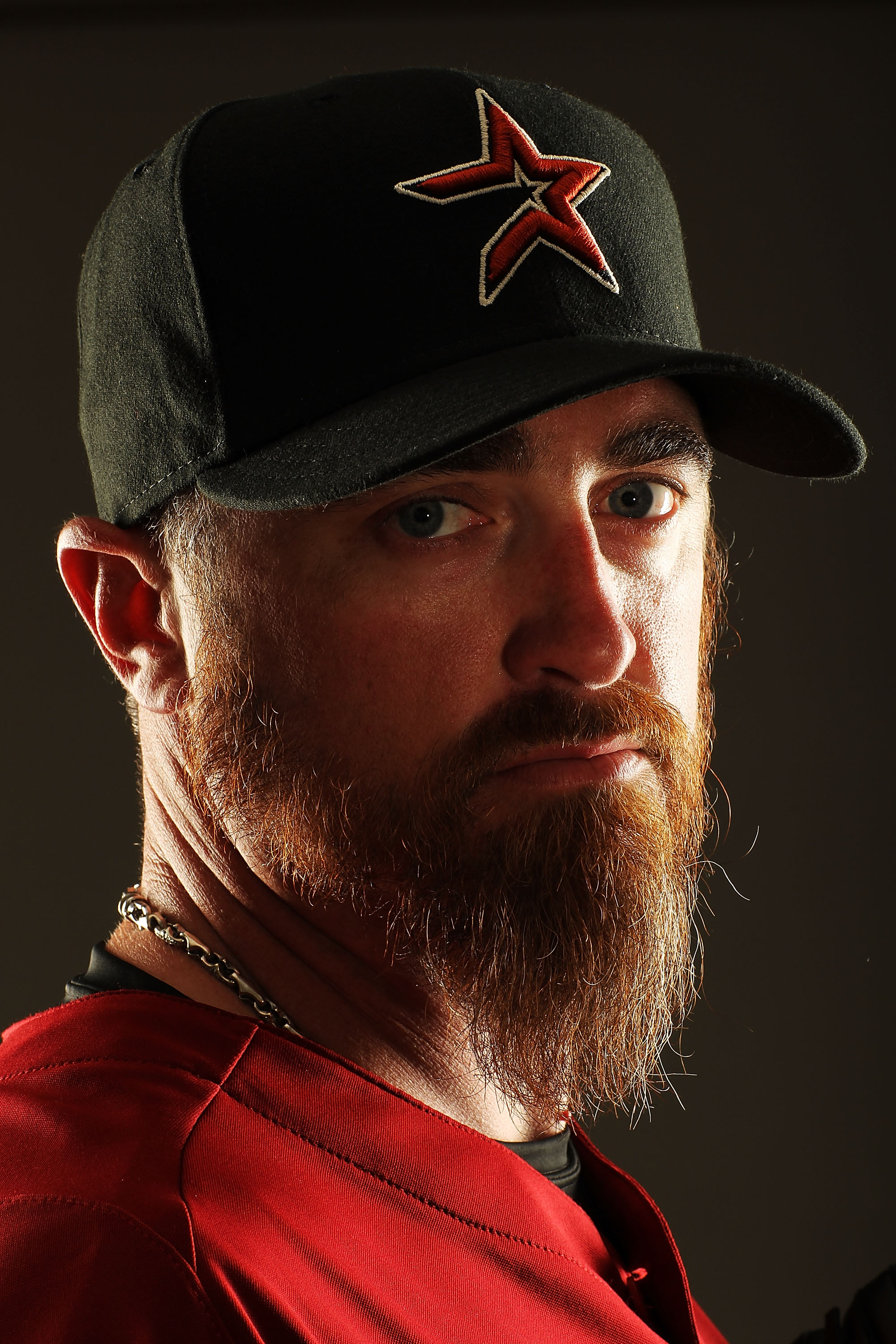 KISSIMMEE, FL - FEBRUARY 24:  Brett Myers #39 of the Houston Astros poses for a portrait Spring Training photo Day at Osceola County Stadium  on February 24, 2011 in Kissimmee, Florida.  (Photo by Al Bello/Getty Images)
