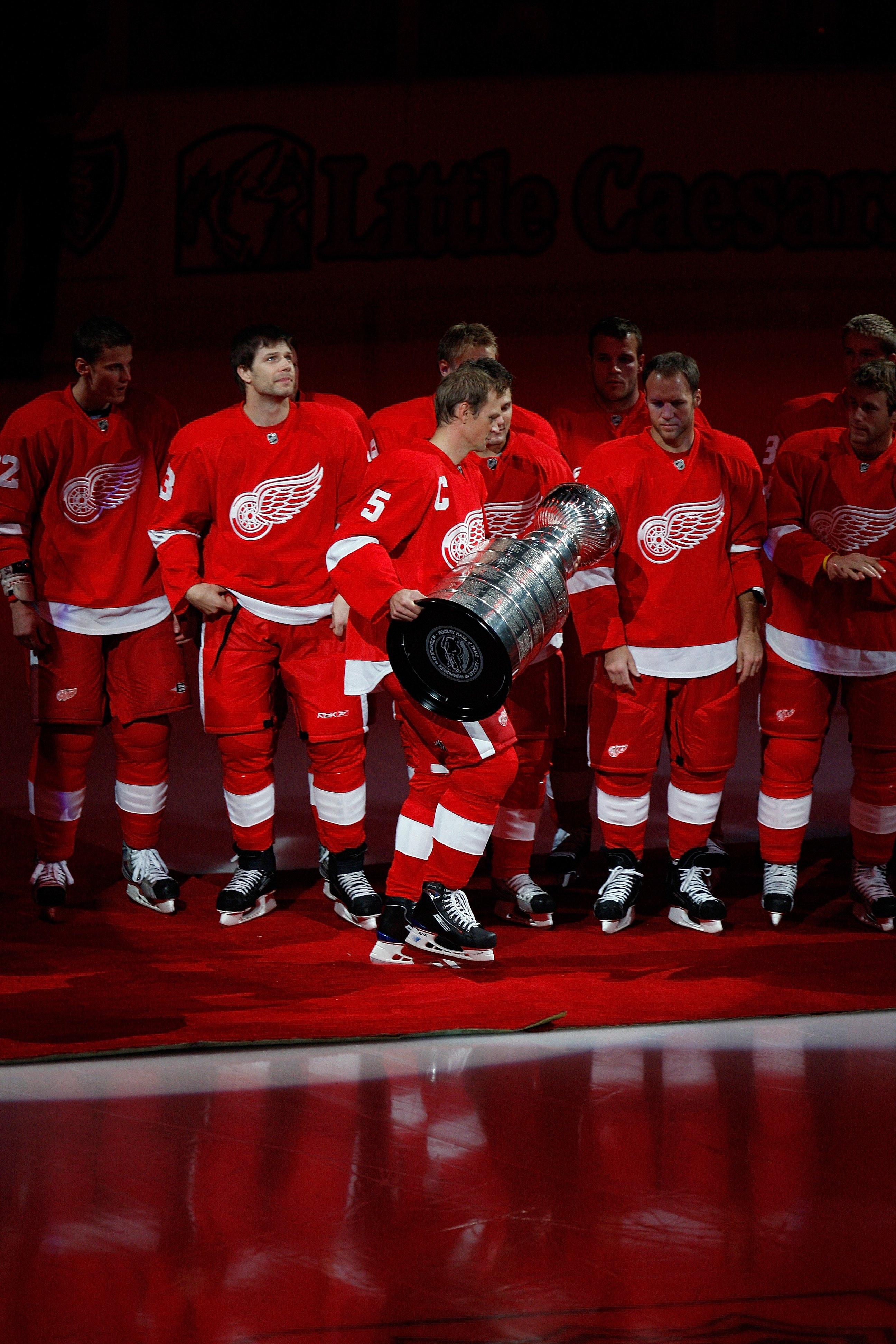 Red Wings teams have four Stanley Cups since 1997 and eleven overall.