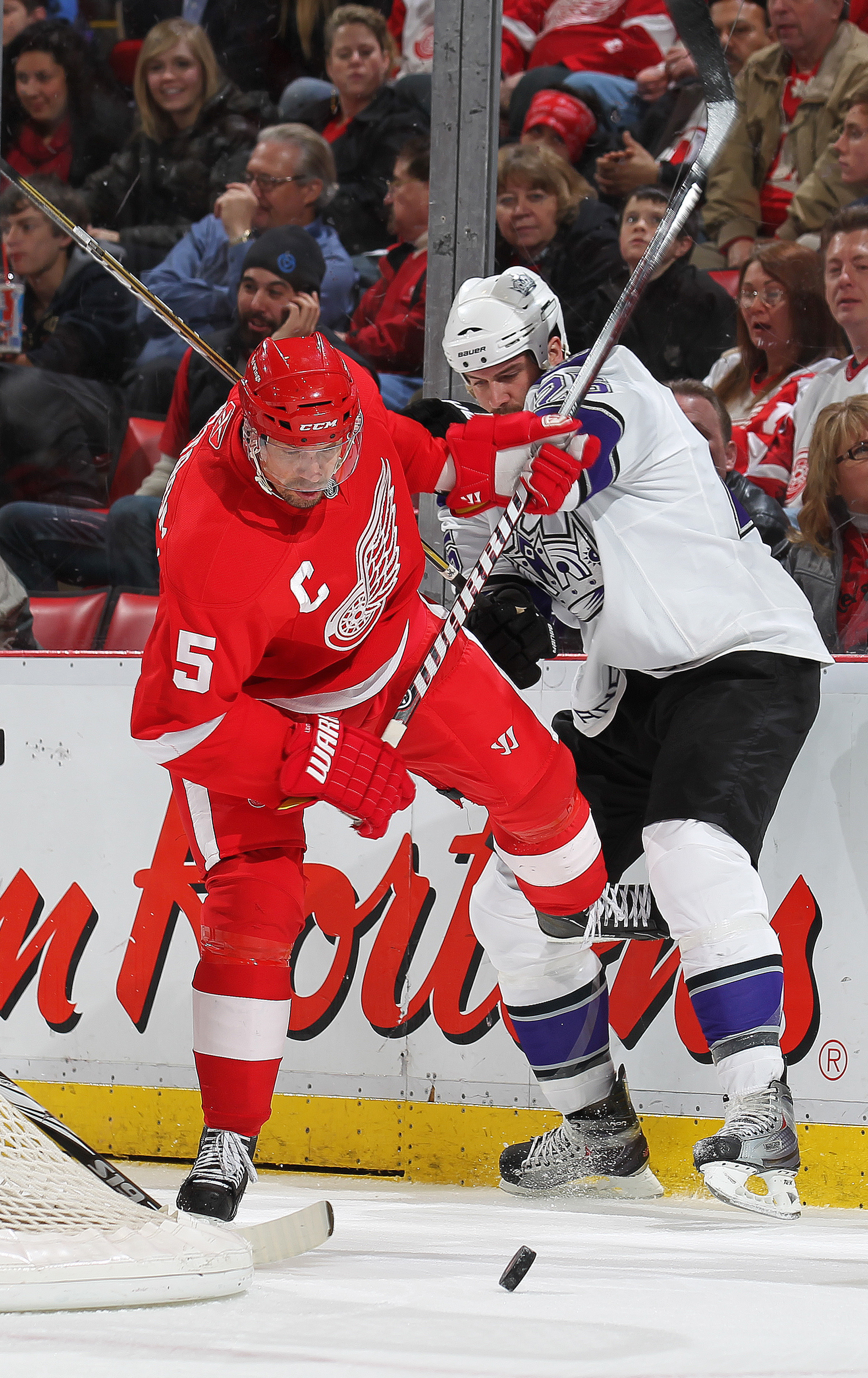 Nicklas Lidstrom, on his way to the Hockey Hall of FAme, leads another Red Wings team poised to make another run at Lord Stanley's Cup