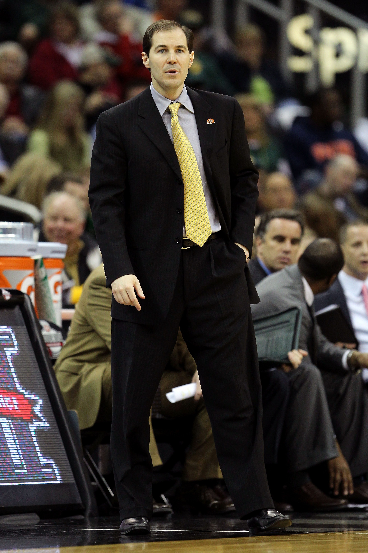 Baylor head coach Scott Drew watches his season unravel