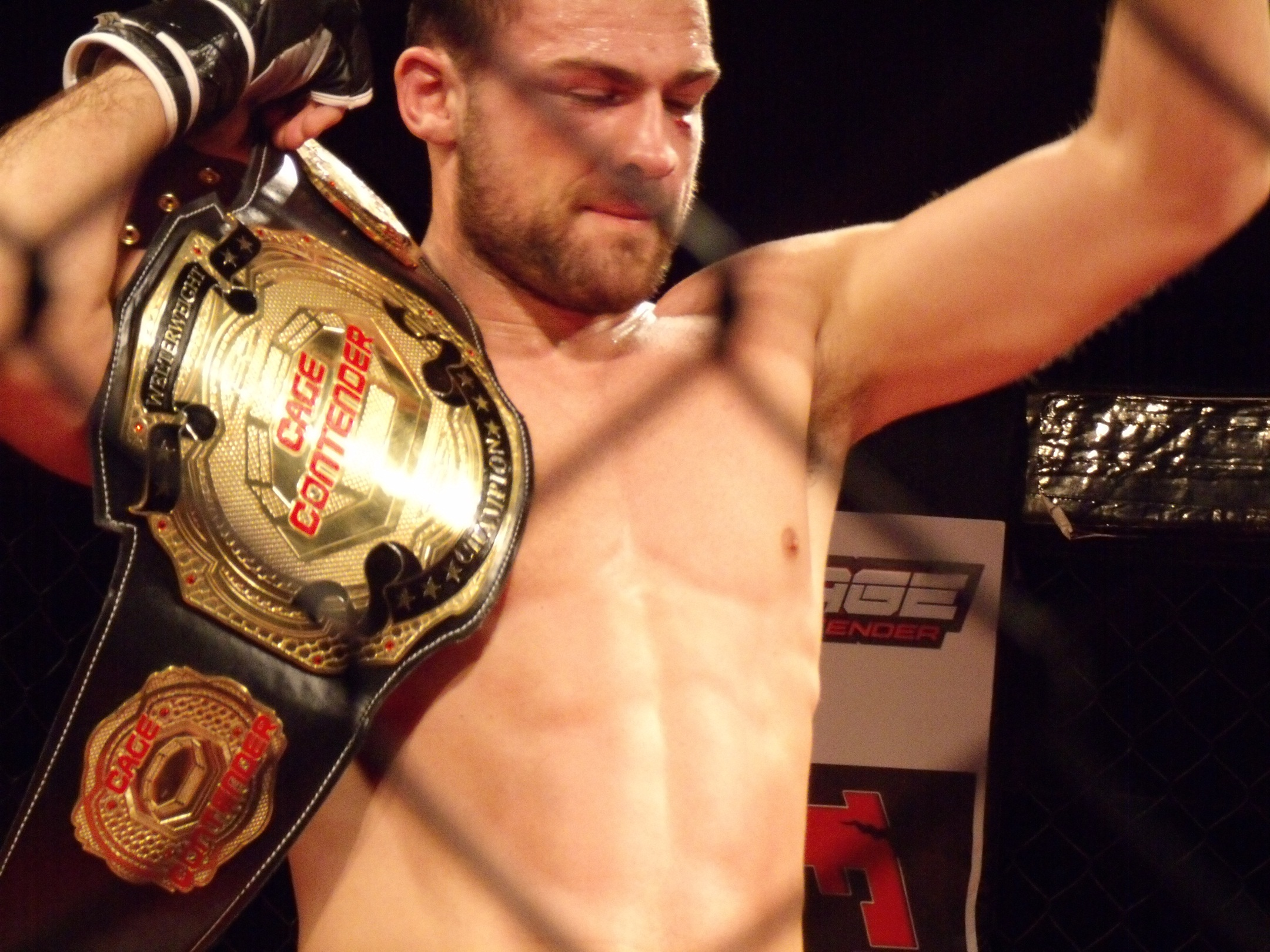 Pendred after successful title defense