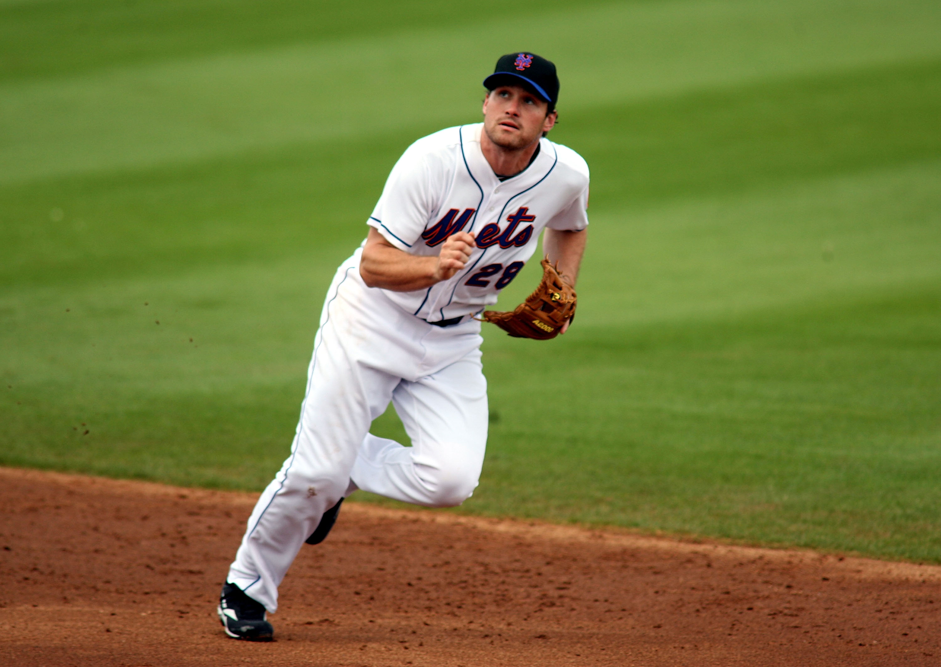 Daniel Murphy has never played a Major League game at second base.