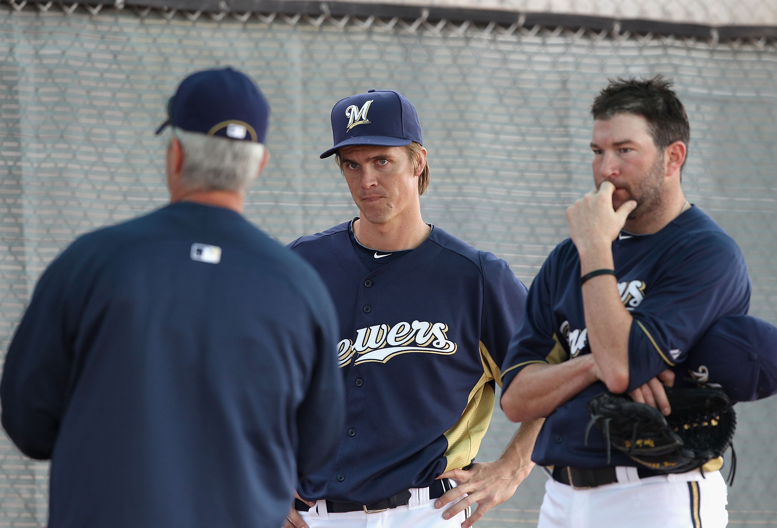 Will Greinke and Marcum be the difference for the Brew Crew?