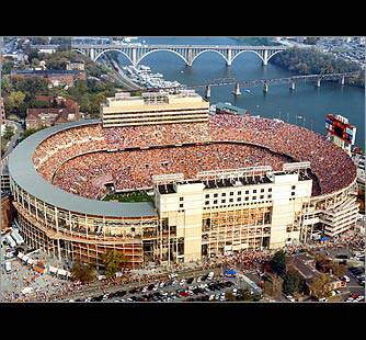 They come by land, the come by water, they always come to fill up Neyland Stadium