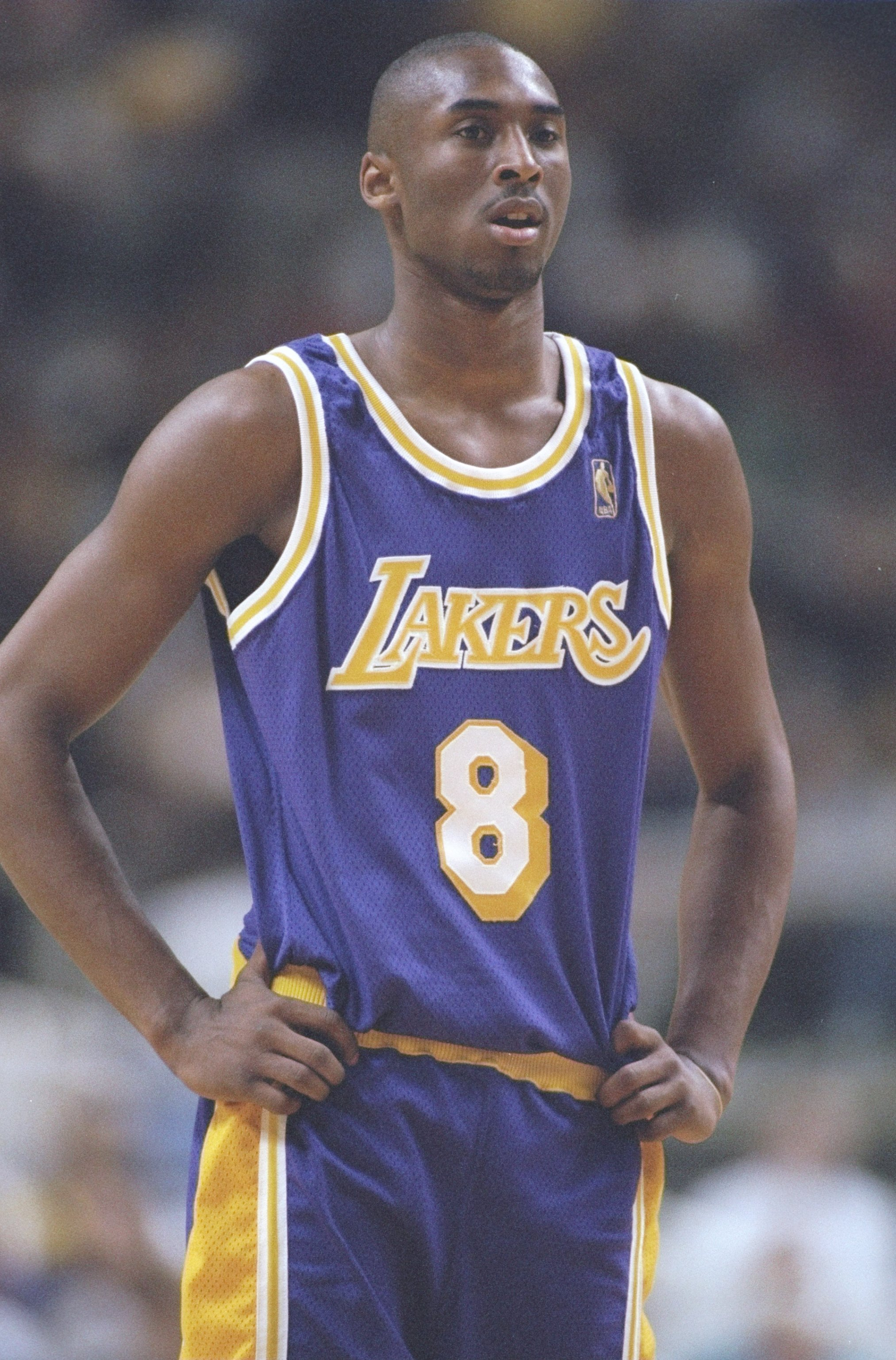 e1105db58a5a 19 Nov 1996  Guard Kobe Bryant of the Los Angeles Lakers stands on the court