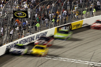 Clint Bowyer and Jimmie Johnson will be running up front Saturday night.