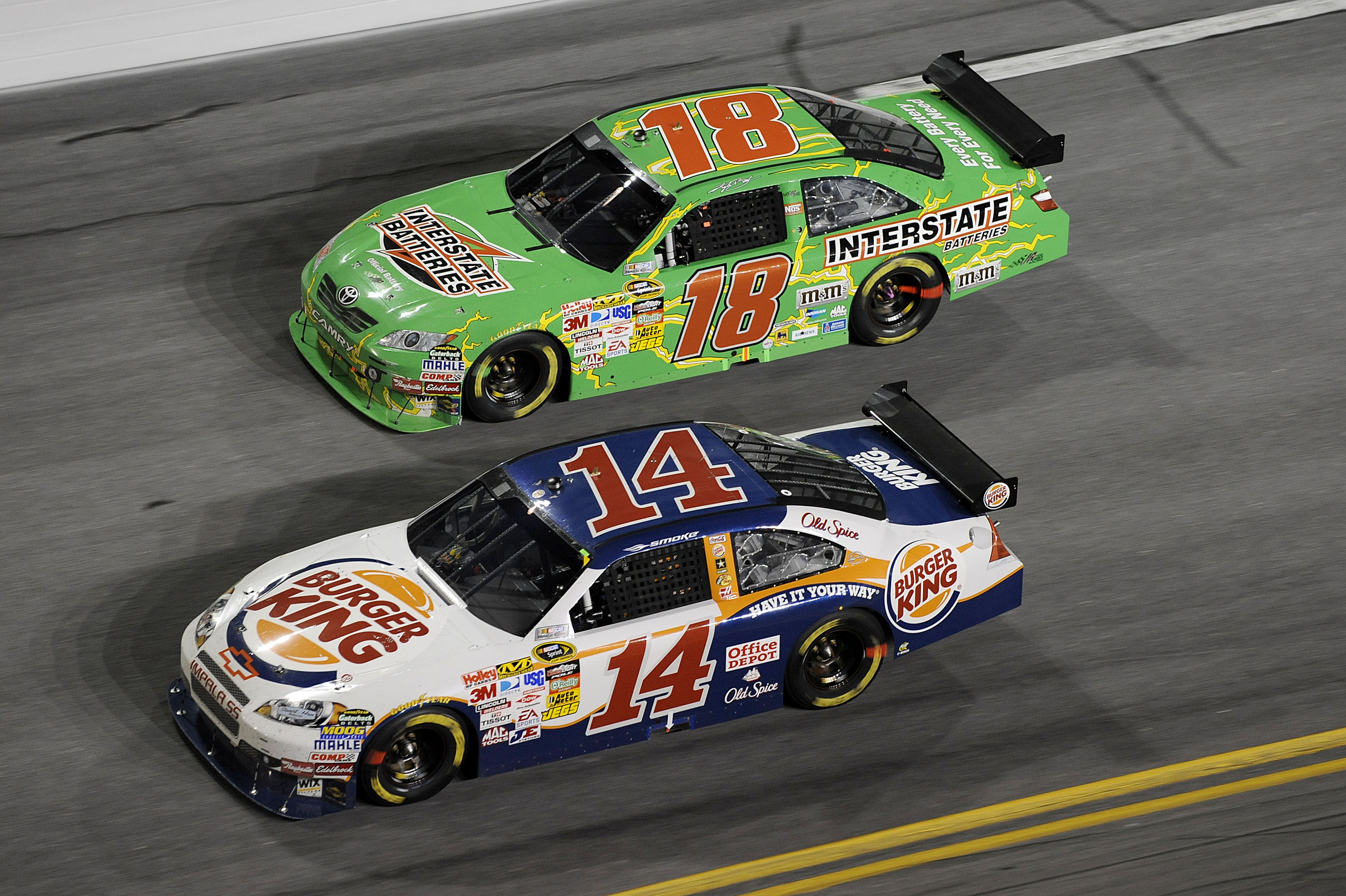 Two of NASCAR's fearest competitors faced off in this race.