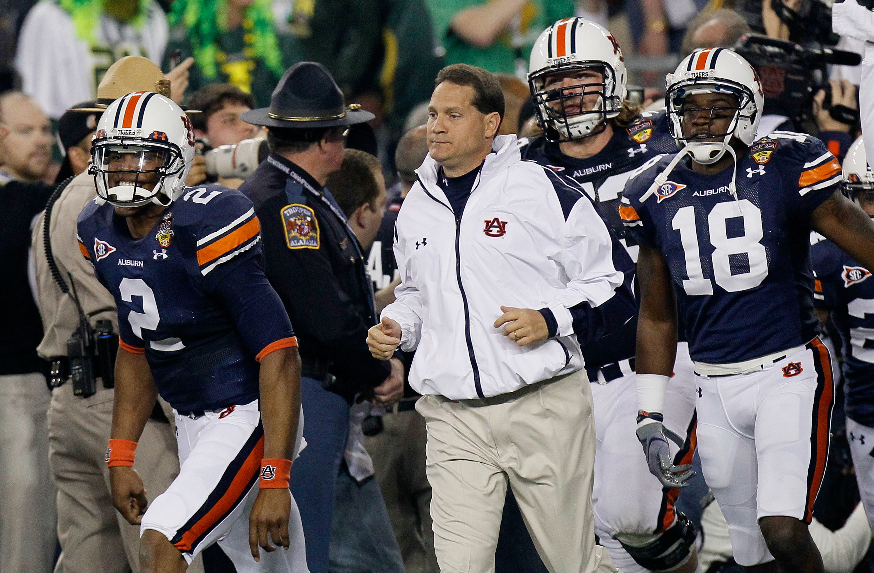 Auburn Football Dream Matchup Who Would Win 2010 Versus