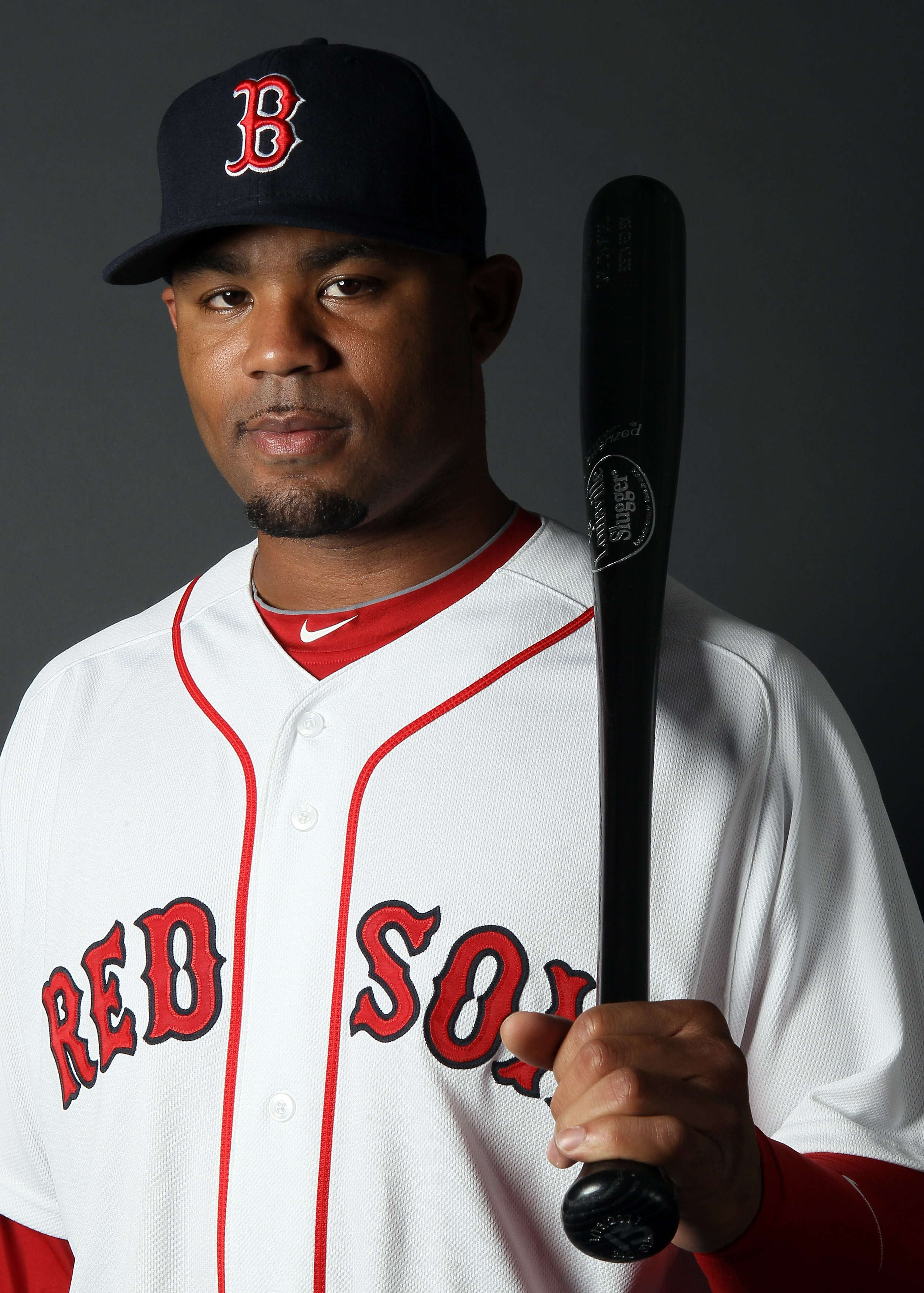 FT. MYERS, FL - FEBRUARY 20:  :  :  :  Carl Crawford #13 of the Boston Red Sox poses for a portrait during the Boston Red Sox Photo Day on February 20, 2011 at the Boston Red Sox Player Development Complex in Ft. Myers, Florida  (Photo by Elsa/Getty Image