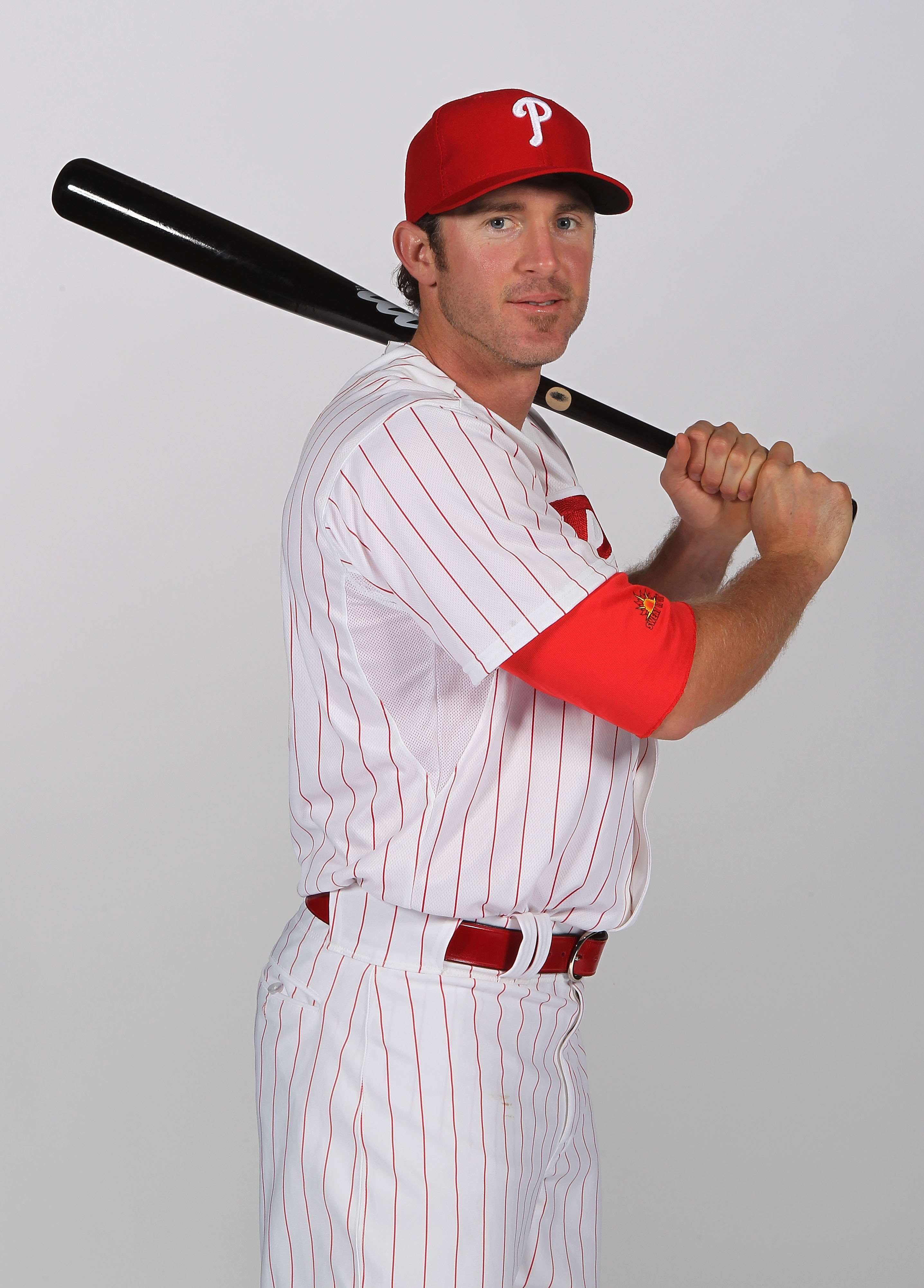 CLEARWATER, FL - FEBRUARY 22:  Chase Utley #26 of the Philadelphia Phillies poses for a photo during Spring Training Media Photo Day at Bright House Networks Field on February 22, 2011 in Clearwater, Florida.  (Photo by Nick Laham/Getty Images)