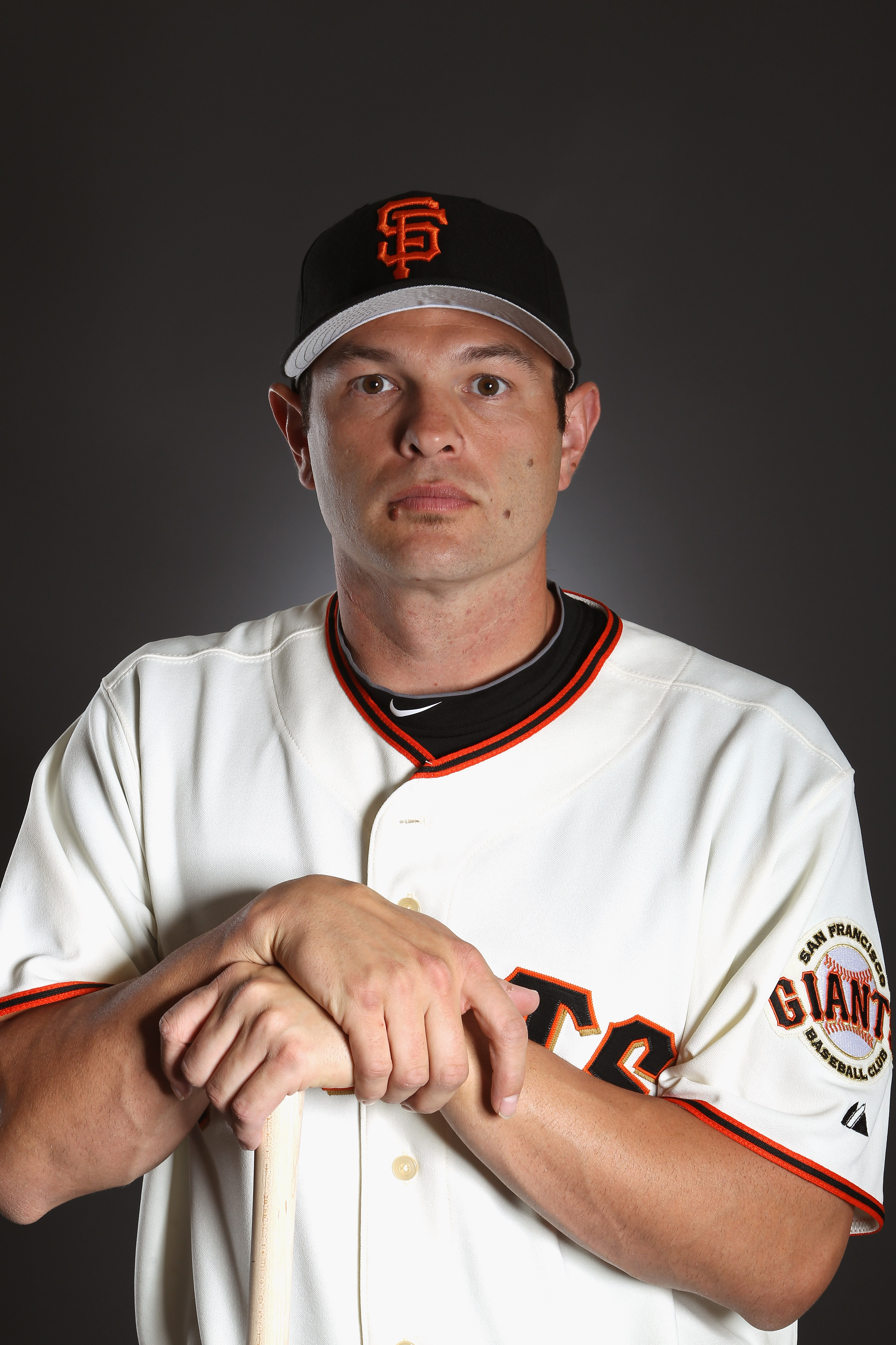 SCOTTSDALE, AZ - FEBRUARY 23:  Freddy Sanchez #21 of the San Francisco Giants poses for a portrait during media photo day at Scottsdale Stadium on February 23, 2011 in Scottsdale, Arizona.  (Photo by Ezra Shaw/Getty Images)