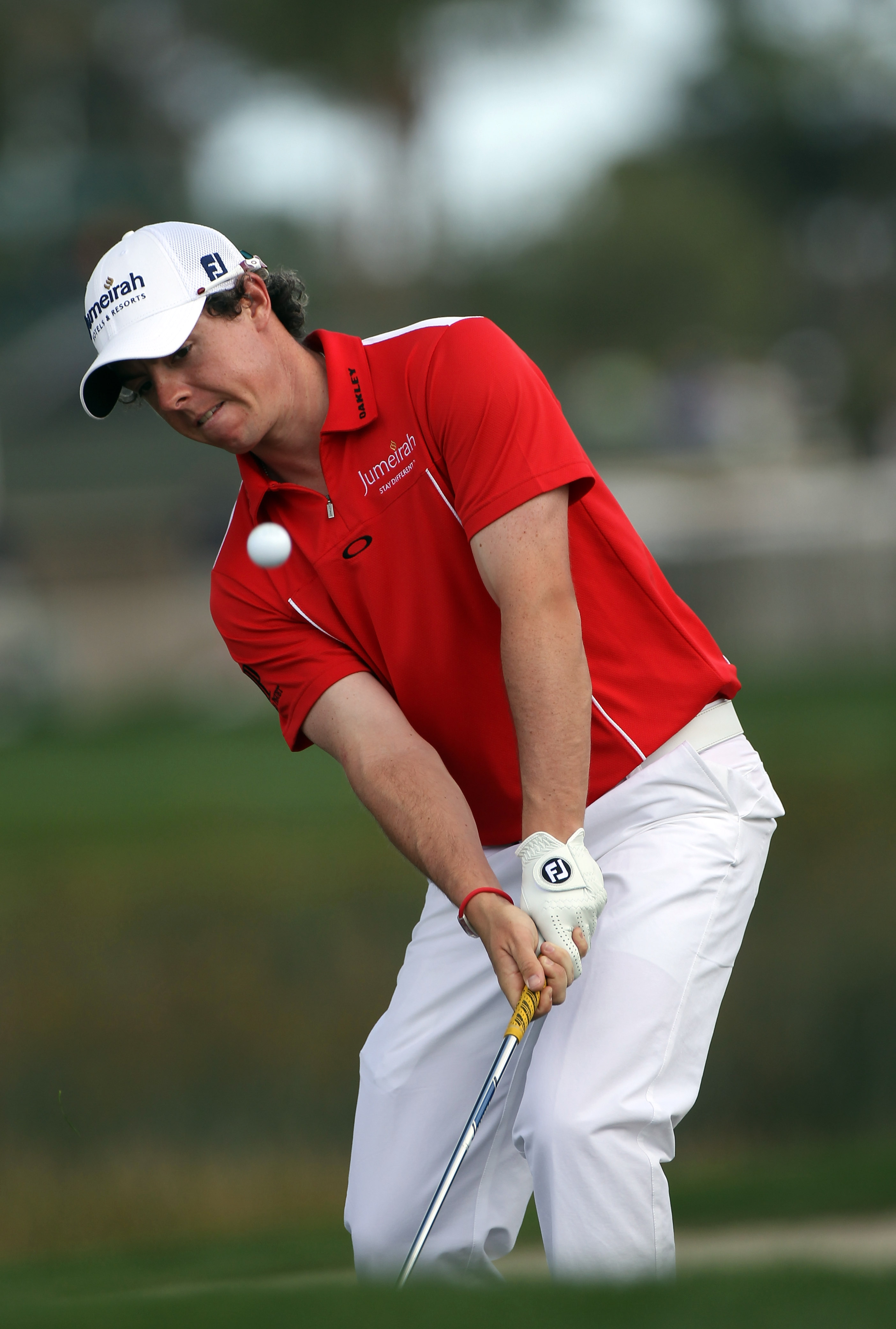PALM BEACH GARDENS, FL - MARCH 04:  Rory McIlroy of Northern Ireland plays a shot during the second round of The Honda Classic at PGA National Resort and Spa on March 4, 2011 in Palm Beach Gardens, Florida.  (Photo by Sam Greenwood/Getty Images)