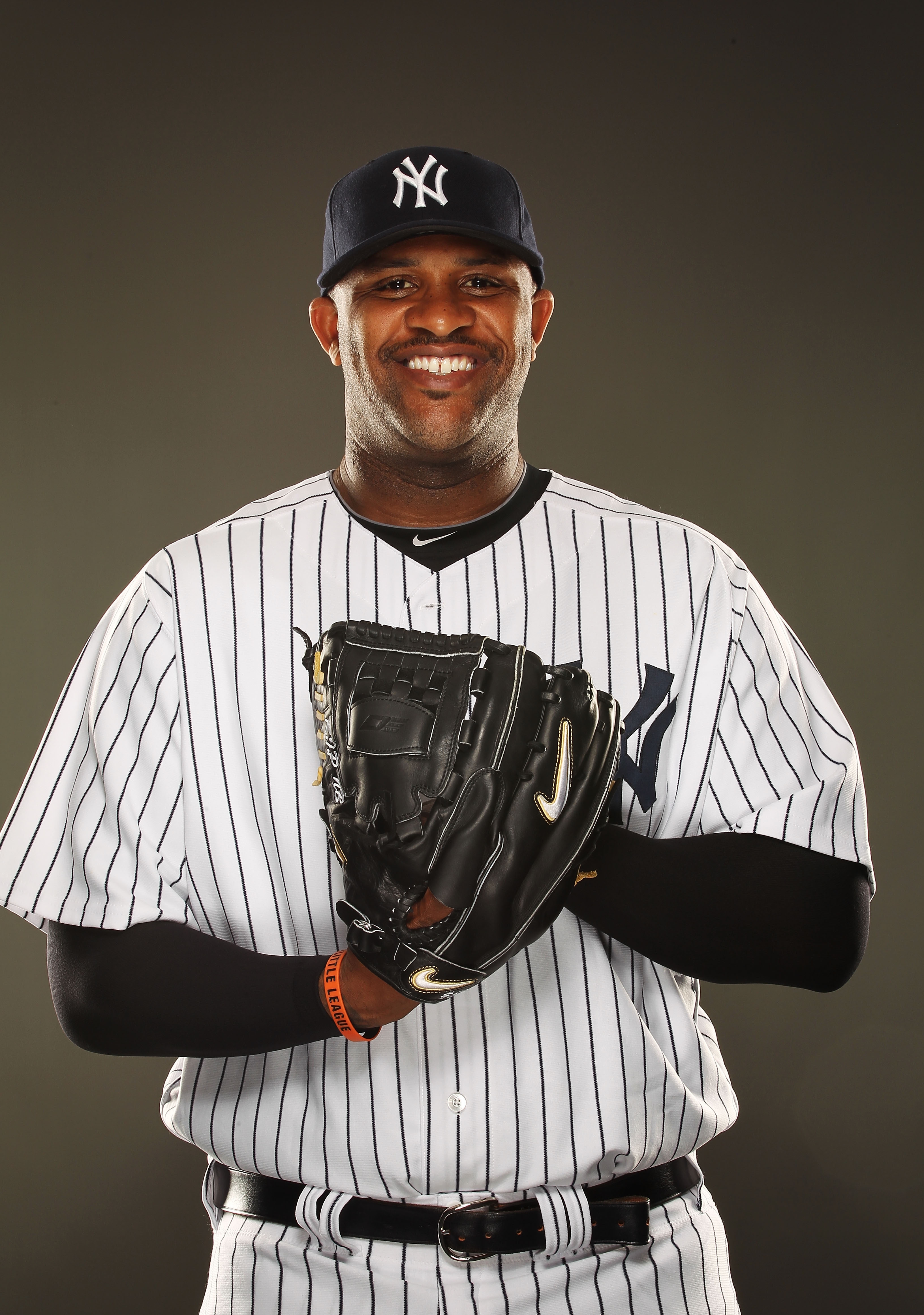TAMPA, FL - FEBRUARY 23:  CC Sabathia #52 of the New York Yankees poses for a portrait on Photo Day at George M. Steinbrenner Field on February 23, 2011 in Tampa, Florida.  (Photo by Al Bello/Getty Images)