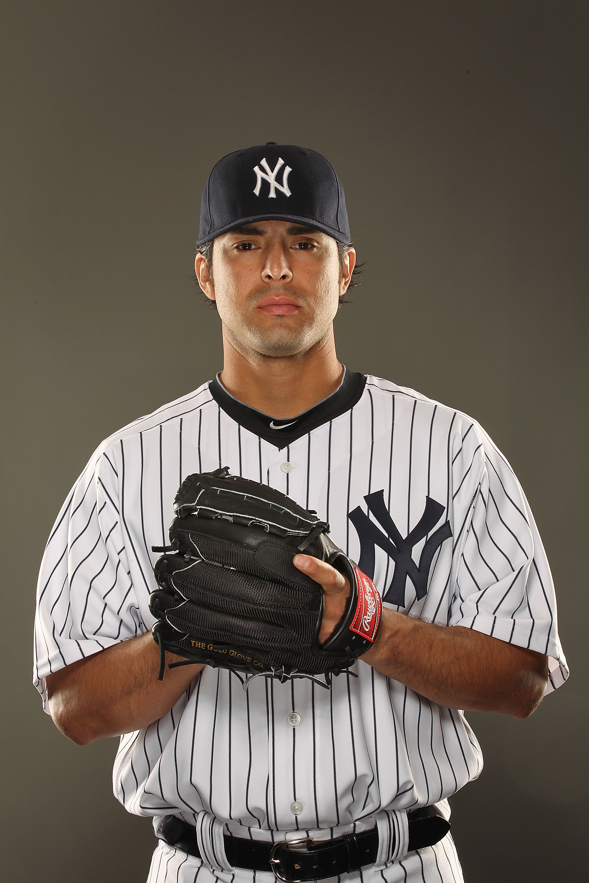 TAMPA, FL - FEBRUARY 23:  Sergio Mitre #45 of the New York Yankees poses for a portrait on Photo Day at George M. Steinbrenner Field on February 23, 2011 in Tampa, Florida.  (Photo by Al Bello/Getty Images)