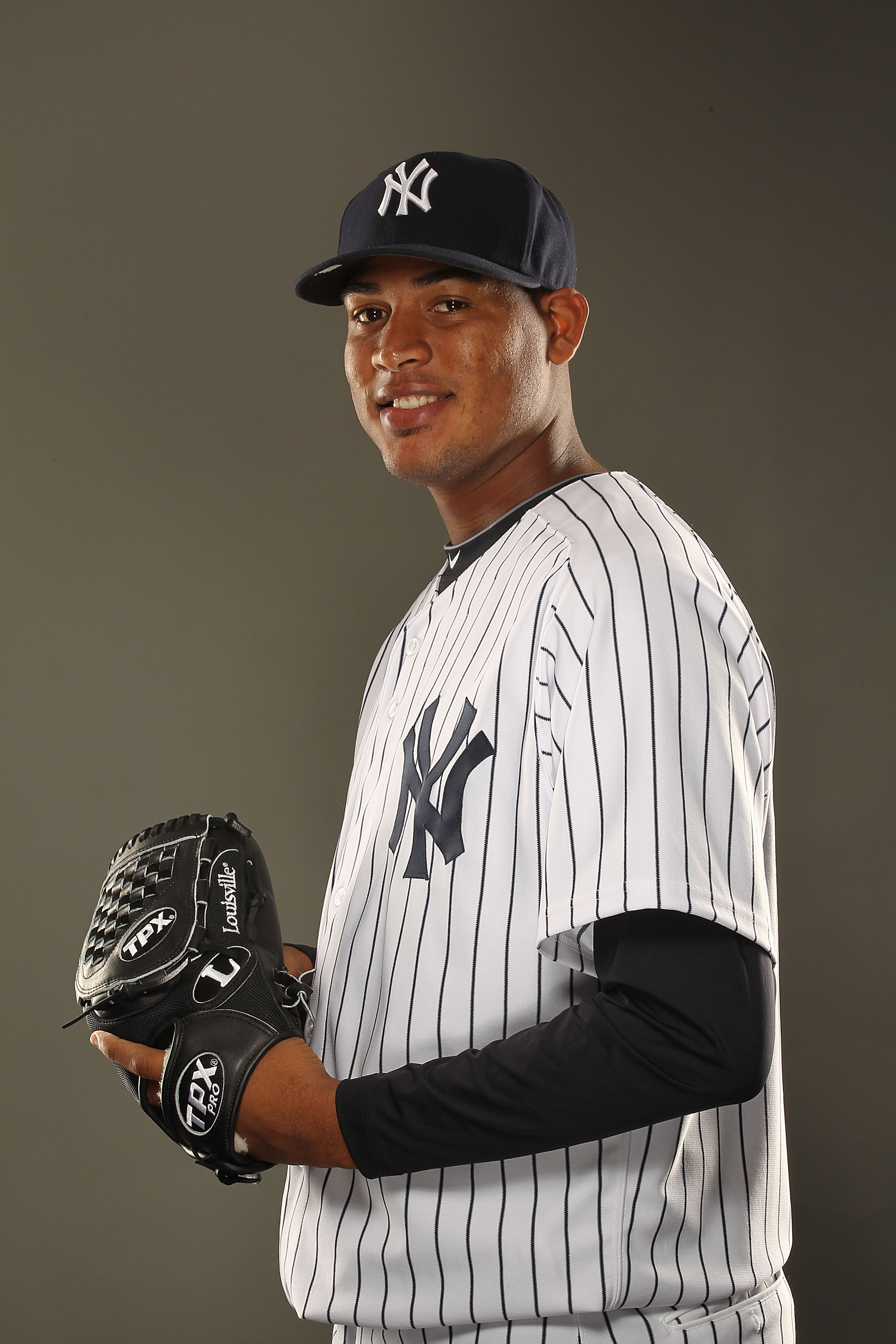 TAMPA, FL - FEBRUARY 23:  Ivan Nova #47 of the New York Yankees poses for a portrait on Photo Day at George M. Steinbrenner Field on February 23, 2011 in Tampa, Florida.  (Photo by Al Bello/Getty Images)