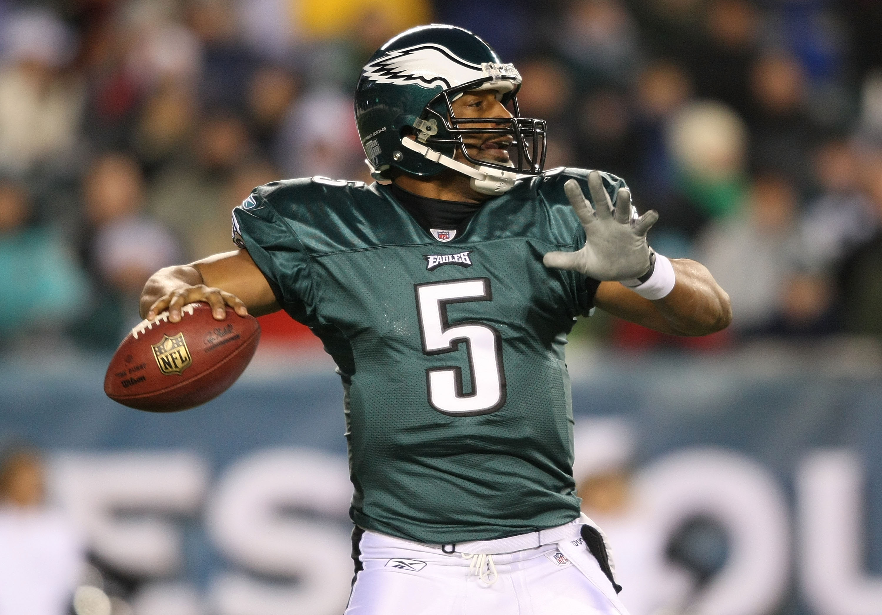 hot sales ae8d7 65a57 Philadelphia Eagles: All-Time Jersey Numbers, 1- 15 ...