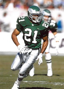 61bf5f64800 Eric Allen was a five time Pro Bowler and only missed one game in his seven  seasons with the Eagles.