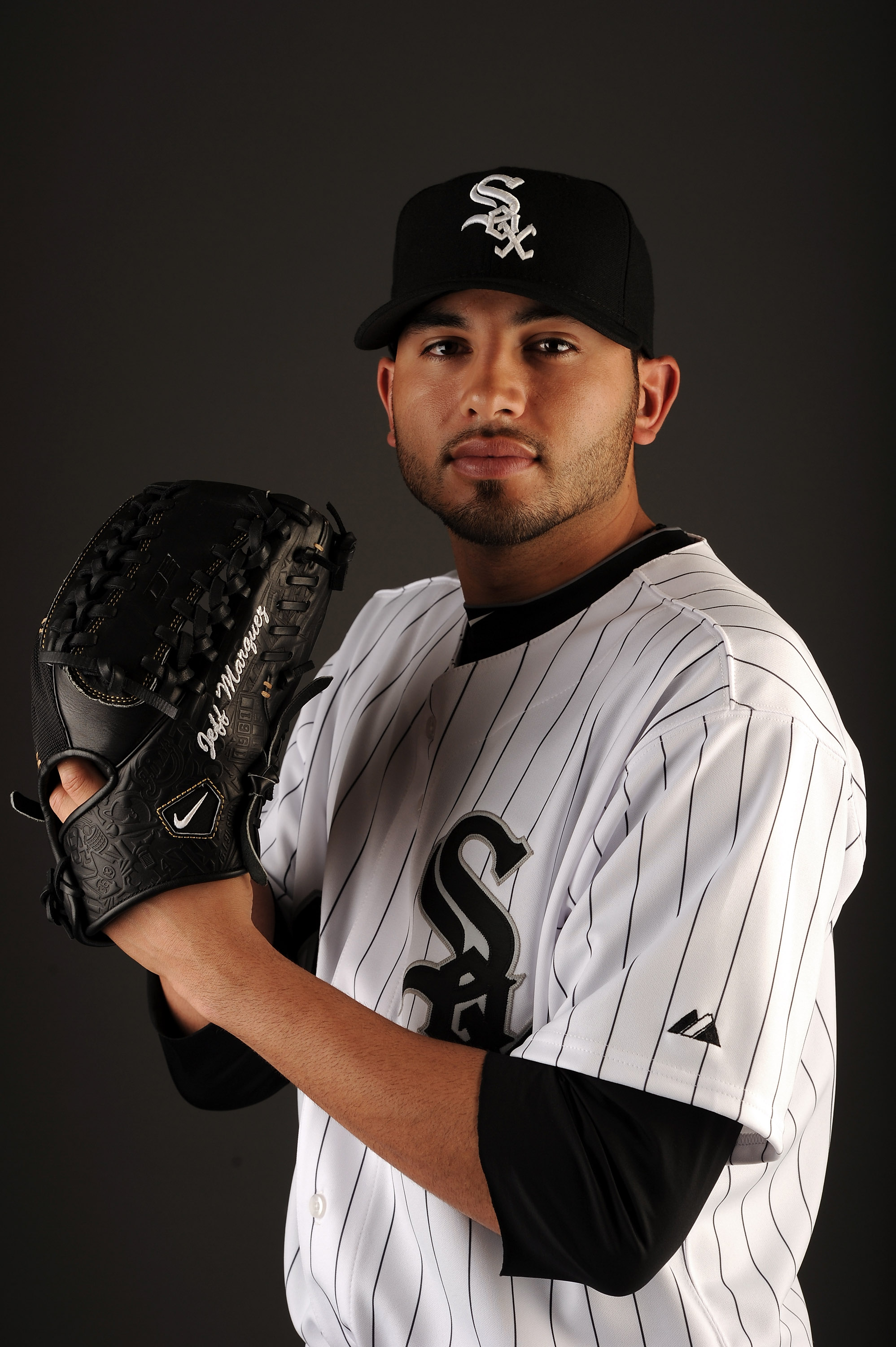 GLENDALE, AZ - FEBRUARY 26:  Jeff Marquez #48 of the Chicago White Sox poses for a photo on photo day at Camelback Ranch on February 26, 2011 in Glendale, Arizona.  (Photo by Harry How/Getty Images)