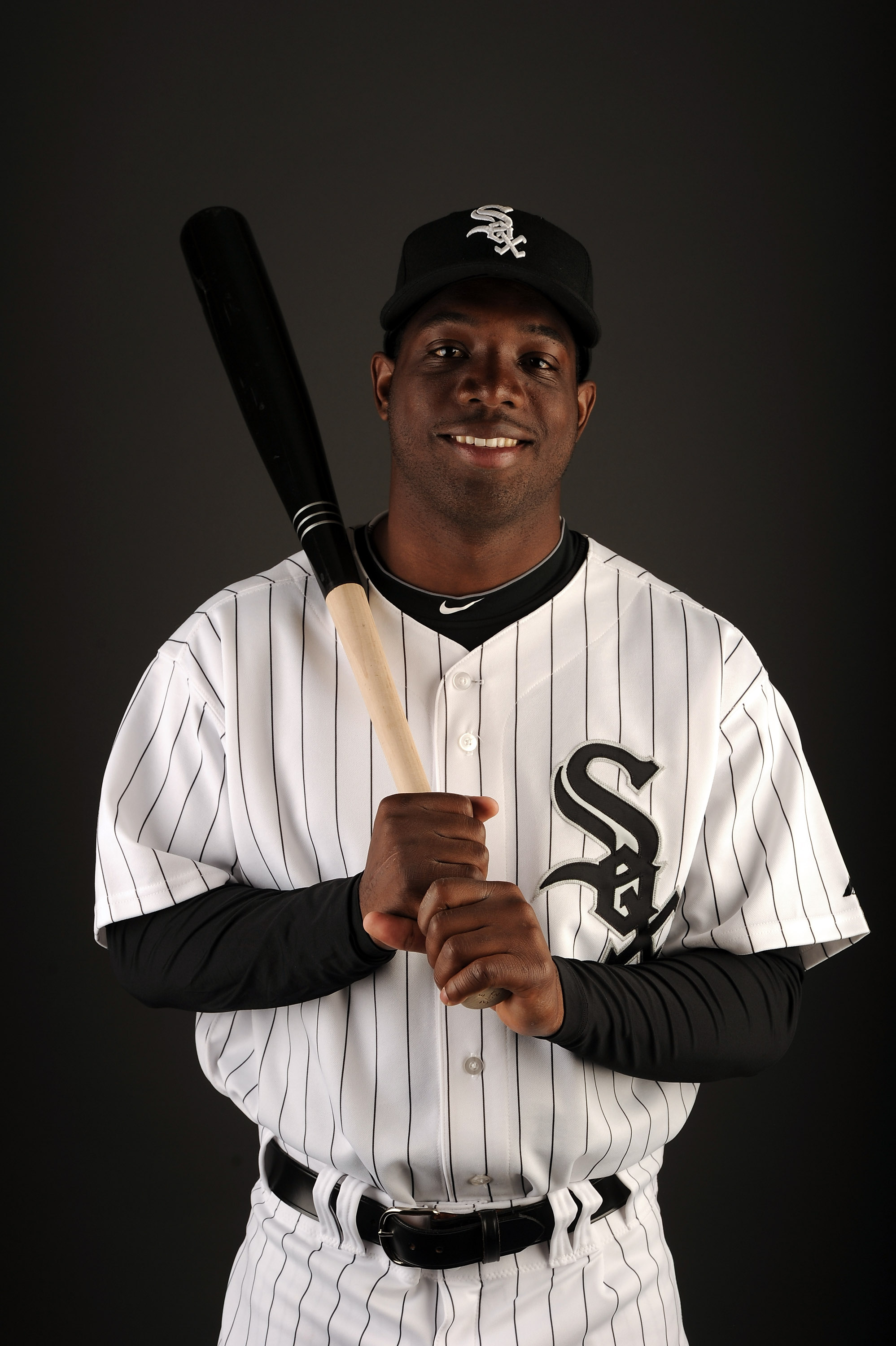 GLENDALE, AZ - FEBRUARY 26:  Lastings Milledge #5 of the Chicago White Sox poses for a photo on photo day at Camelback Ranch on February 26, 2011 in Glendale, Arizona.  (Photo by Harry How/Getty Images)