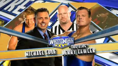 bcd6095d5253 WWE WrestleMania 27: 10 Things You Need to Know About Jerry Lawler vs. Michael  Cole