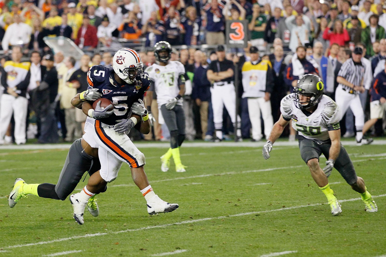 Auburn running back Michael Dyer