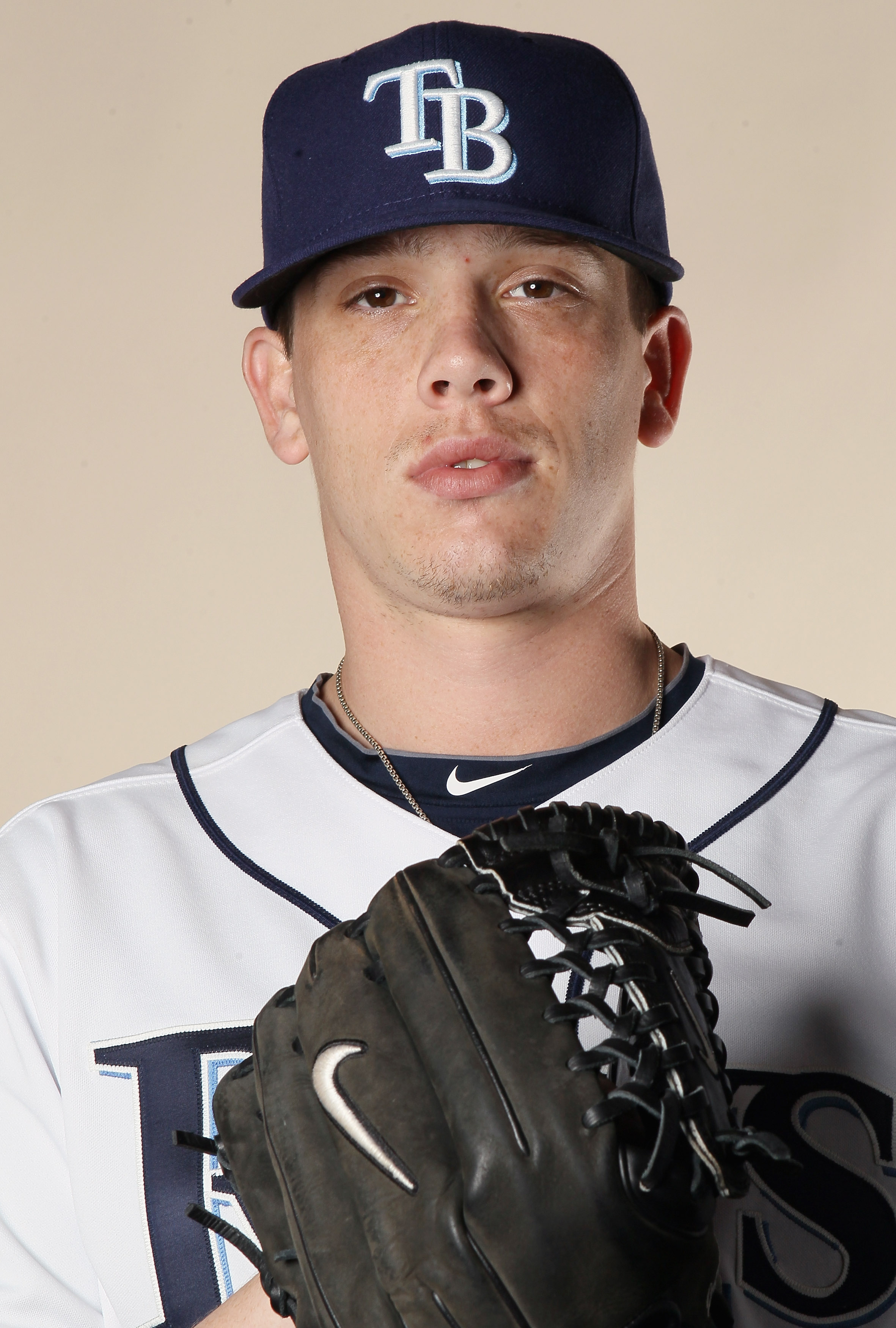 FT. MYERS, FL - FEBRUARY 22:  Jeremy Hellickson #58 of the Tampa Bay Rays poses for a portrait during the Tampa Bay Rays Photo Day on February 22, 2011 at the Charlotte Sports Complex in Port Charlotte, Florida.  (Photo by Elsa/Getty Images)