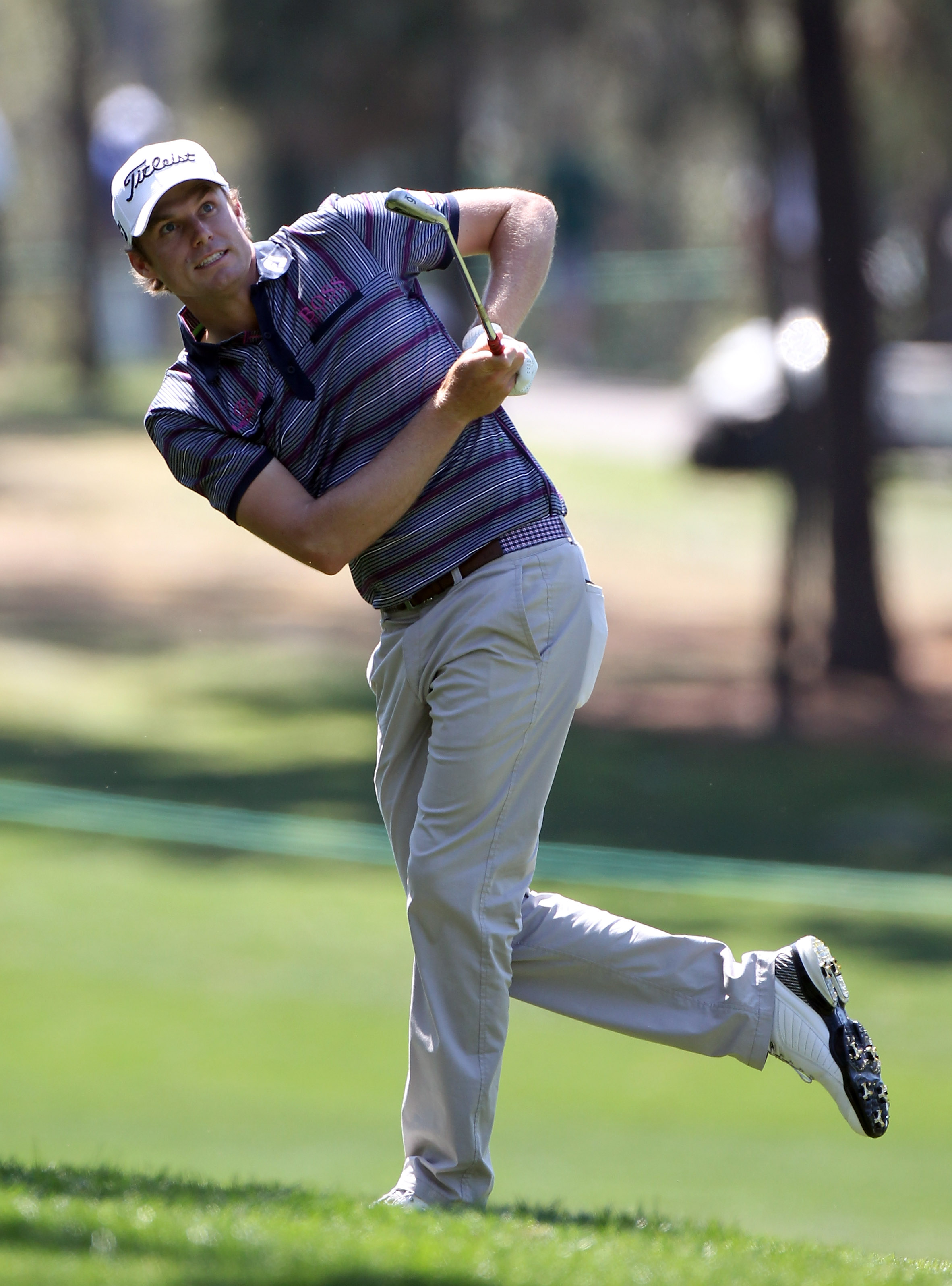 PALM HARBOR, FL - MARCH 17:  Nick Watney plays a shot on the 6th hole during the first round of the Transitions Championship at Innisbrook Resort and Golf Club on March 17, 2011 in Palm Harbor, Florida.  (Photo by Sam Greenwood/Getty Images)
