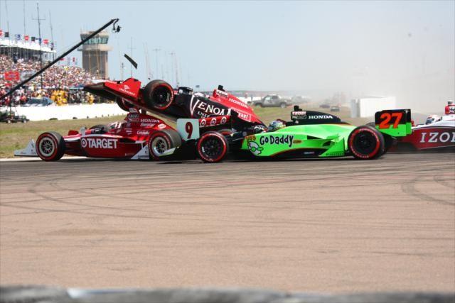 Dixon, Andretti, Conway, Briscoe