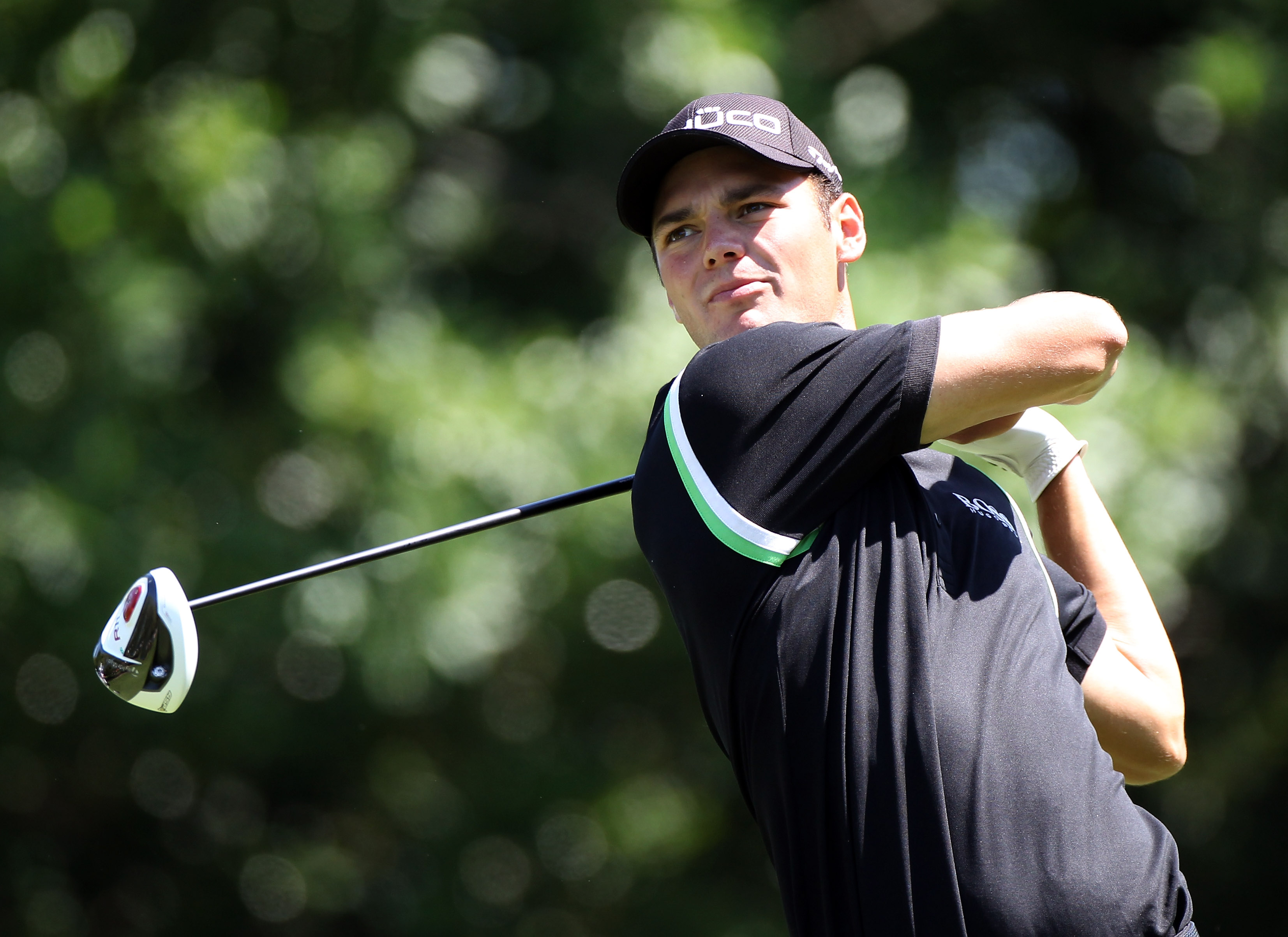 PALM HARBOR, FL - MARCH 17:  Martin Kaymer of Germany plays a shot on the 9th hole during the first round of the Transitions Championship at Innisbrook Resort and Golf Club on March 17, 2011 in Palm Harbor, Florida.  (Photo by Sam Greenwood/Getty Images)