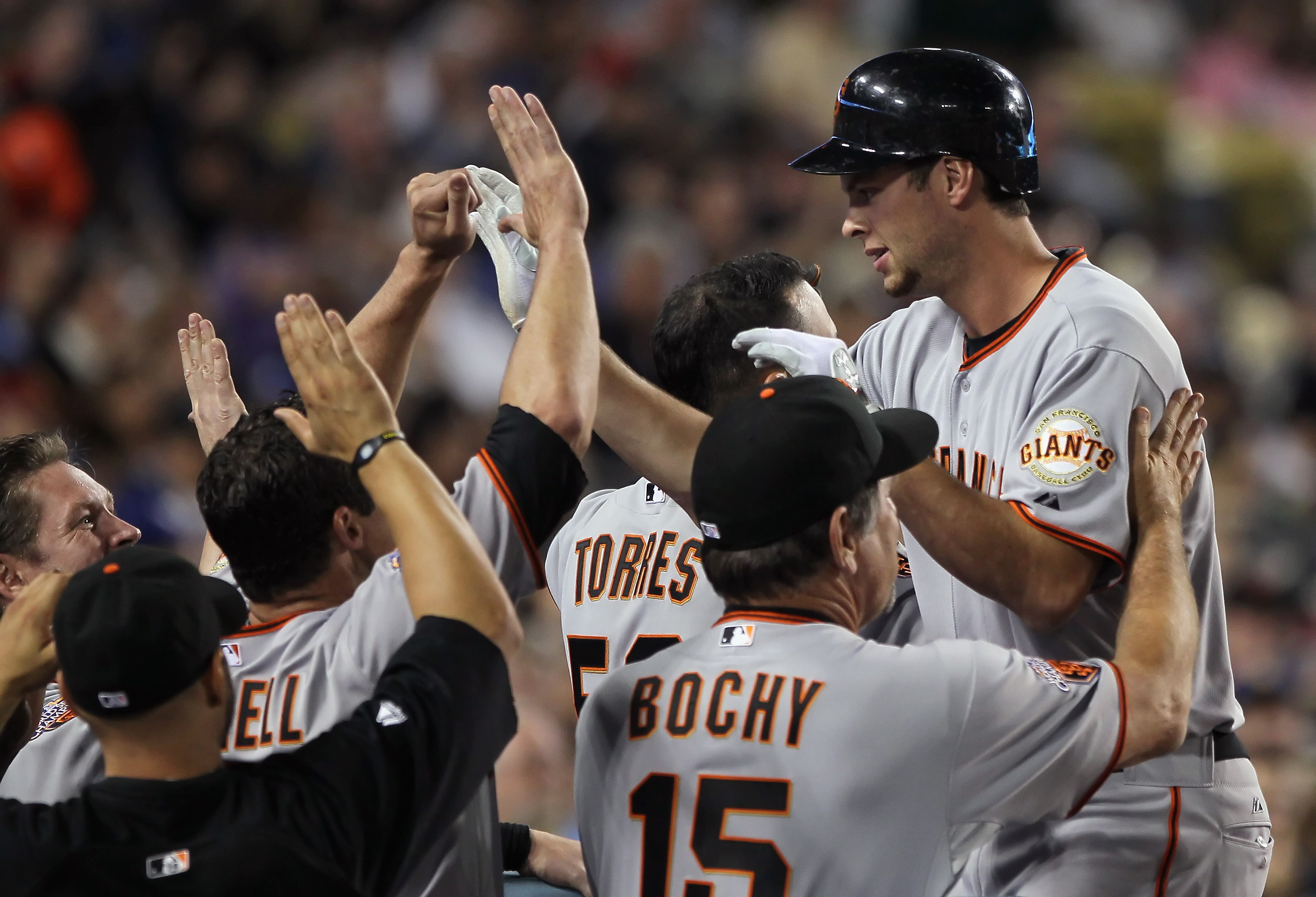 Brandon Belt was the biggest breakout star of the 2010 season, and ended up starting on Opening Day for the WS Champion Giants.