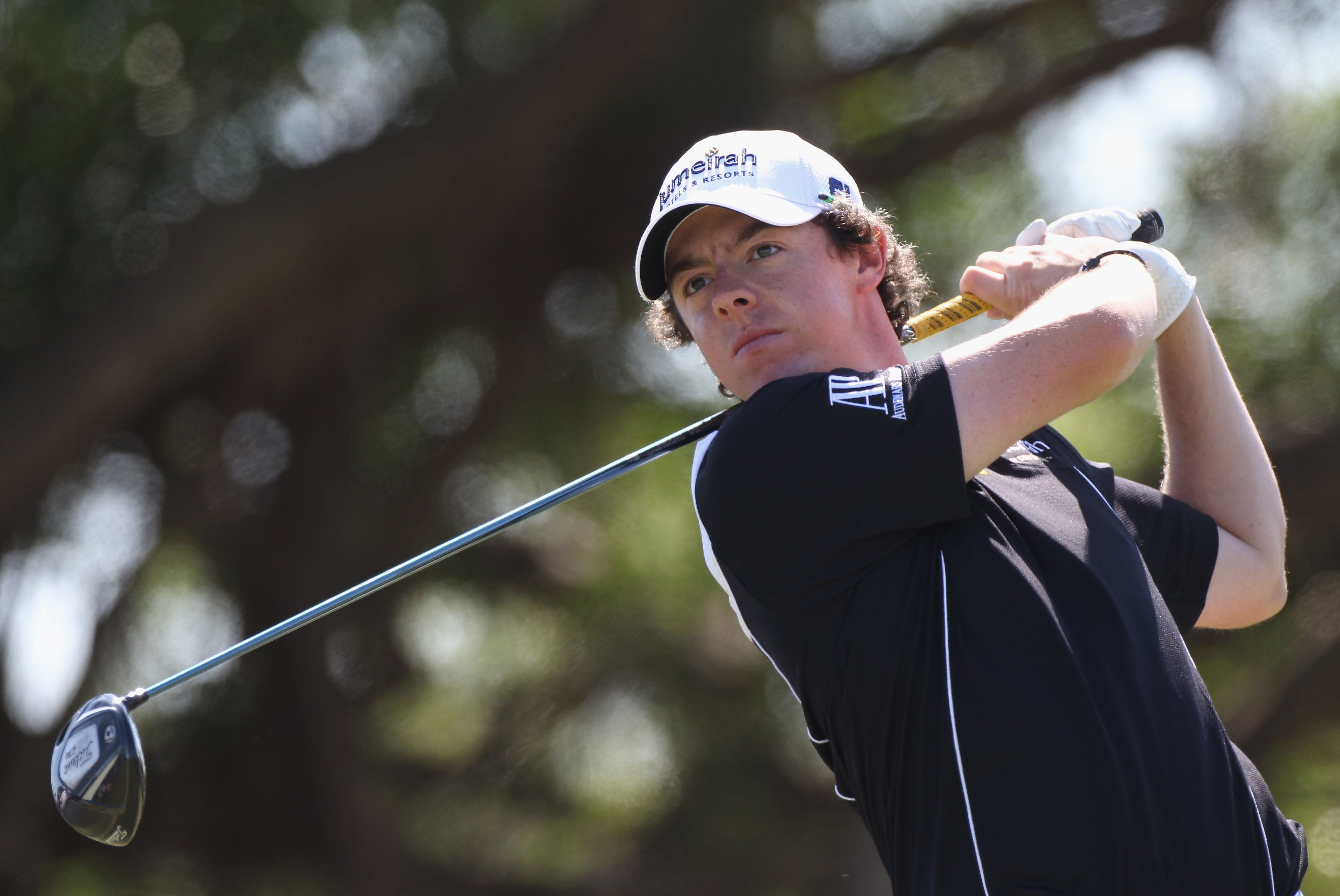 DORAL, FL - MARCH 13:  Rory McIlroy hits a shot during the final round of the 2011 WGC- Cadillac Championship at the TPC Blue Monster at the Doral Golf Resort and Spa on March 13, 2011 in Doral, Florida.  (Photo by Sam Greenwood/Getty Images)