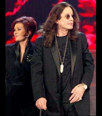 Ozzy and Sharon Osbourne as Raw Guest Hosts on November 2, 2009.