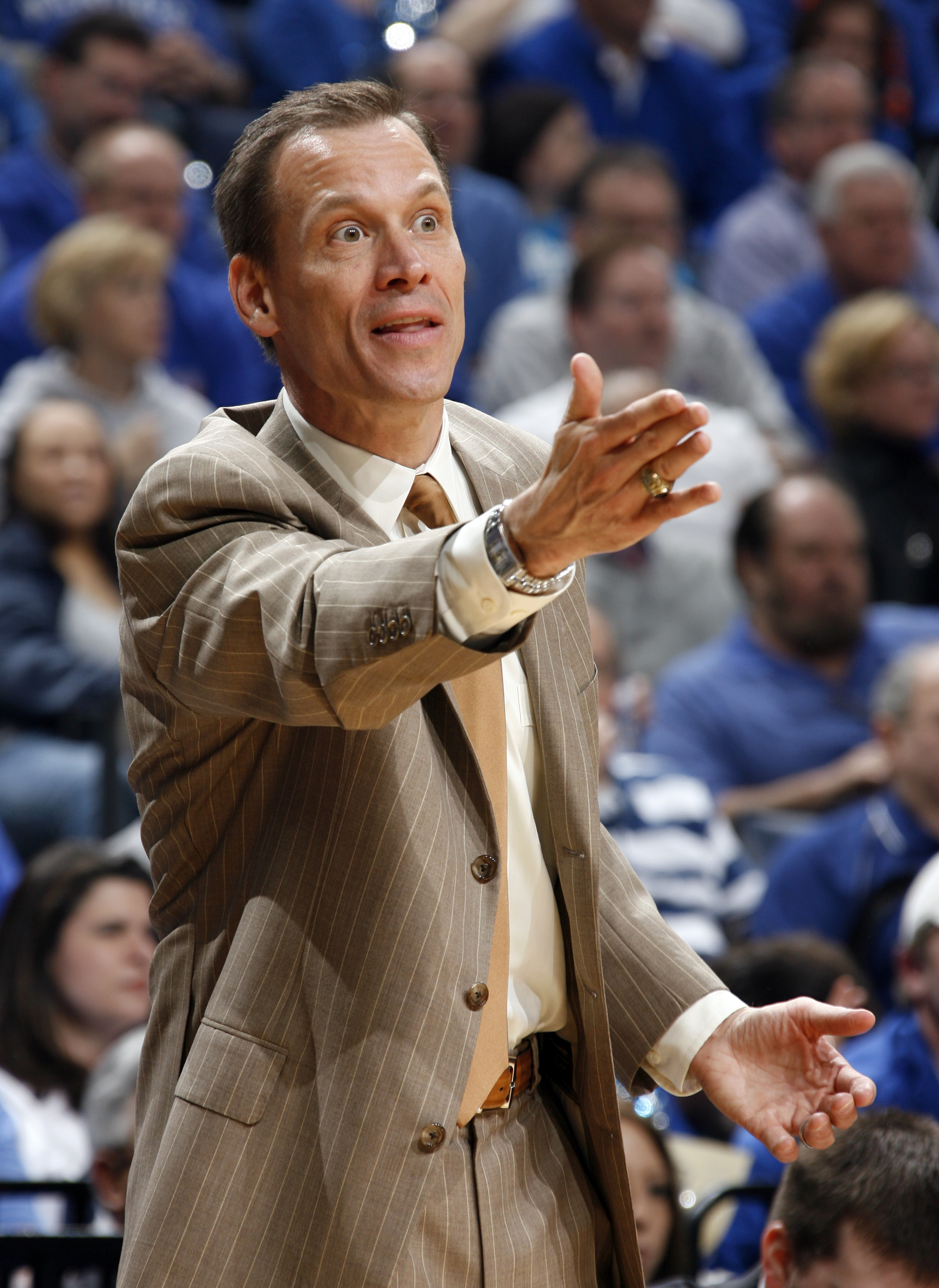 Wojcick previously served as an assistant under Tom Izzo at Michigan State.