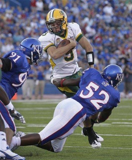 Kansas' Top Returning Tackler- Linebacker Steven Johnson