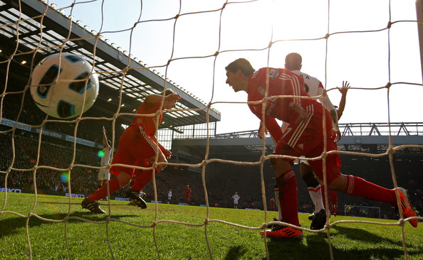 Dirk Kuyt benefited from some Luis Suarez creativity in bagging three goals.