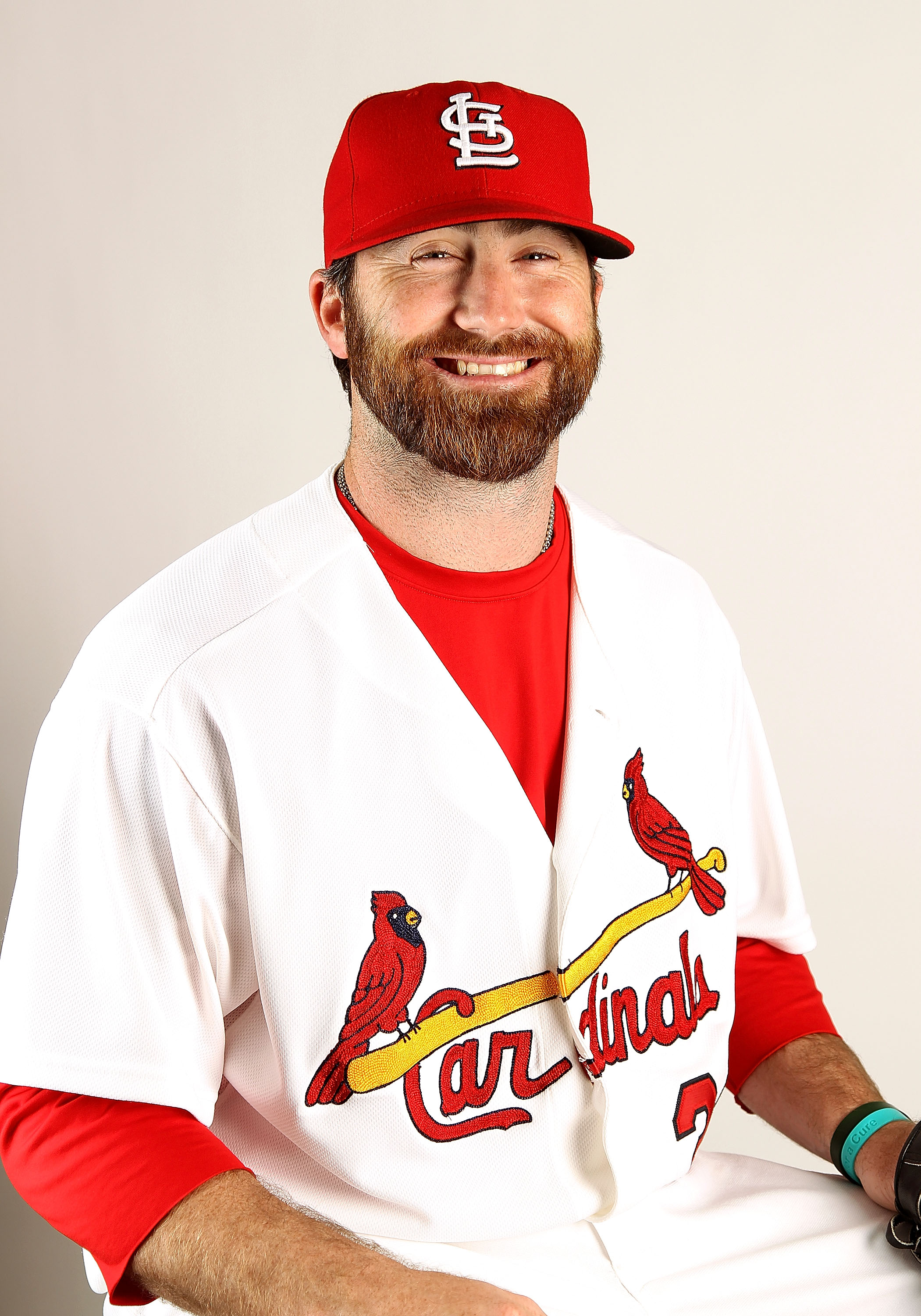 JUPITER, FL - FEBRUARY 24:  Jason Motte #30 of the St. Louis Cardinals during Photo Day at Roger Dean Stadium on February 24, 2011 in Jupiter, Florida.  (Photo by Mike Ehrmann/Getty Images)