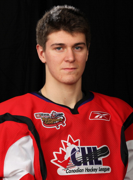 TORONTO, CAN - JANUARY 19:  Mark Scheifele #19 of Team Cherry poses for a Head Shot prior to skating in the 2011 Home Hardware Top Prospects game on January 19, 2011 at the Air Canada Centre in Toronto, Canada. (Photo by Claus Andersen/Getty Images)