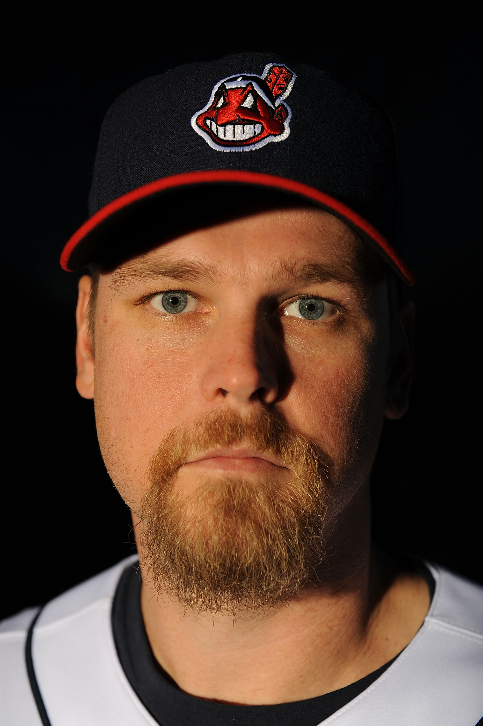 GOODYEAR, AZ - FEBRUARY 21:  Kerry Wood of the Cleveland Indians poses during photo day at the Indians spring training complex on February 21, 2009 in Goodyear, Arizona.  (Photo by Ronald Martinez/Getty Images)