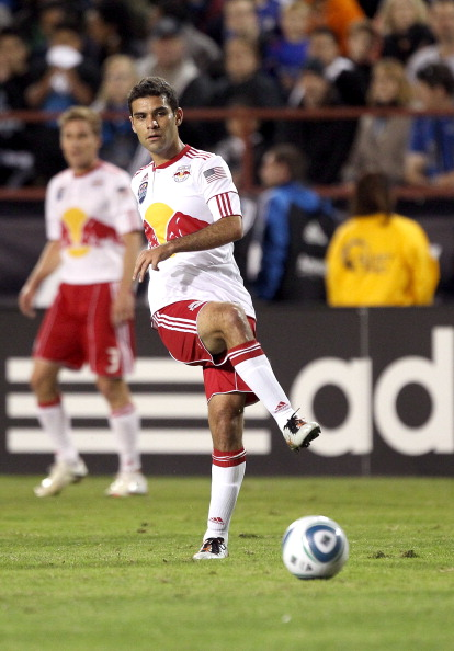 SANTA CLARA, CA - OCTOBER 30:  Rafa Marquez #4 of the New York Red Bulls in action against the San Jose Earthquakes during the 1st leg of their playoff match up at Buck Shaw Stadium on October 30, 2010 in Santa Clara, California.  (Photo by Ezra Shaw/Gett